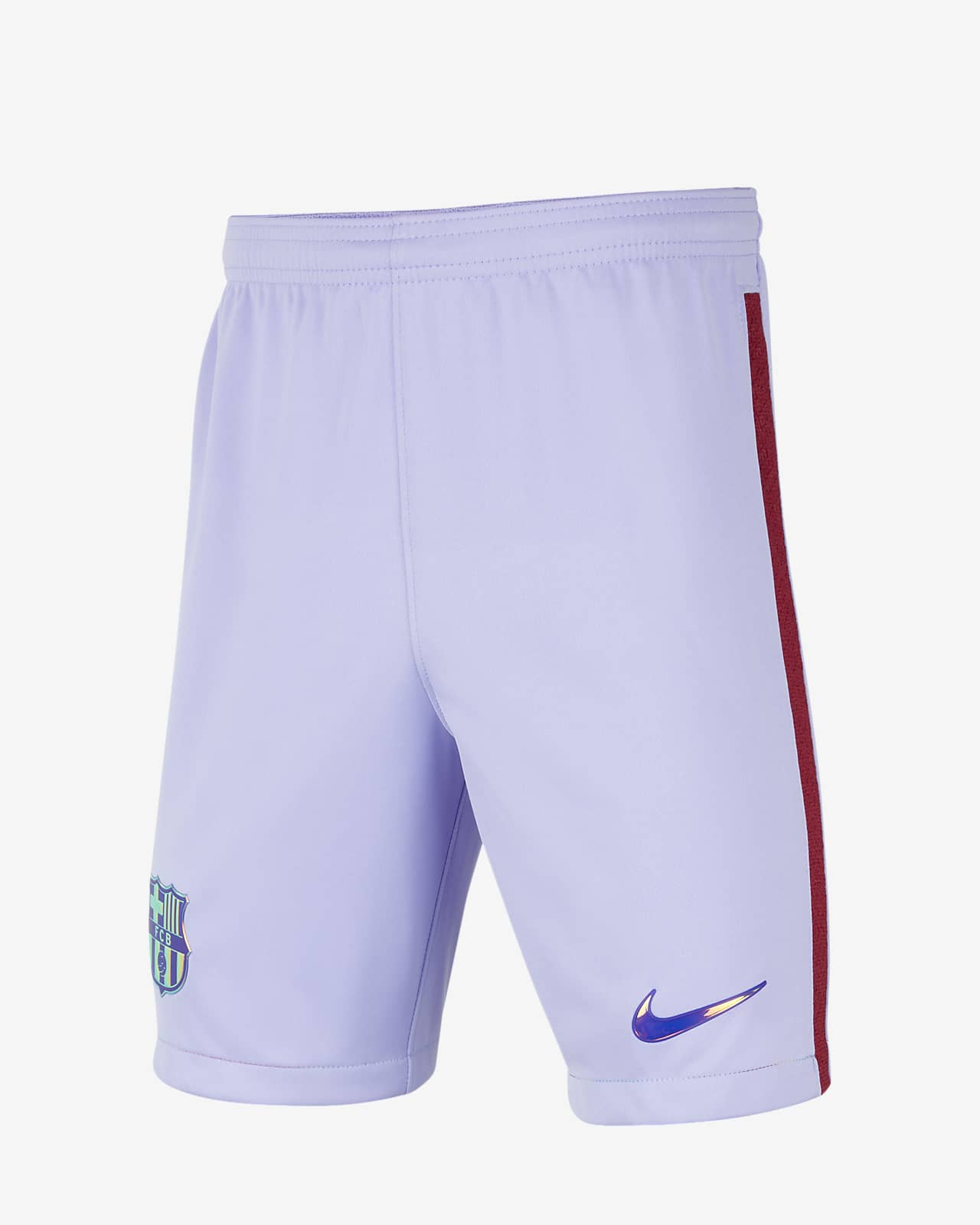 F.C. Barcelona 2021/22 Stadium Home/Away Older Kids' Football Shorts