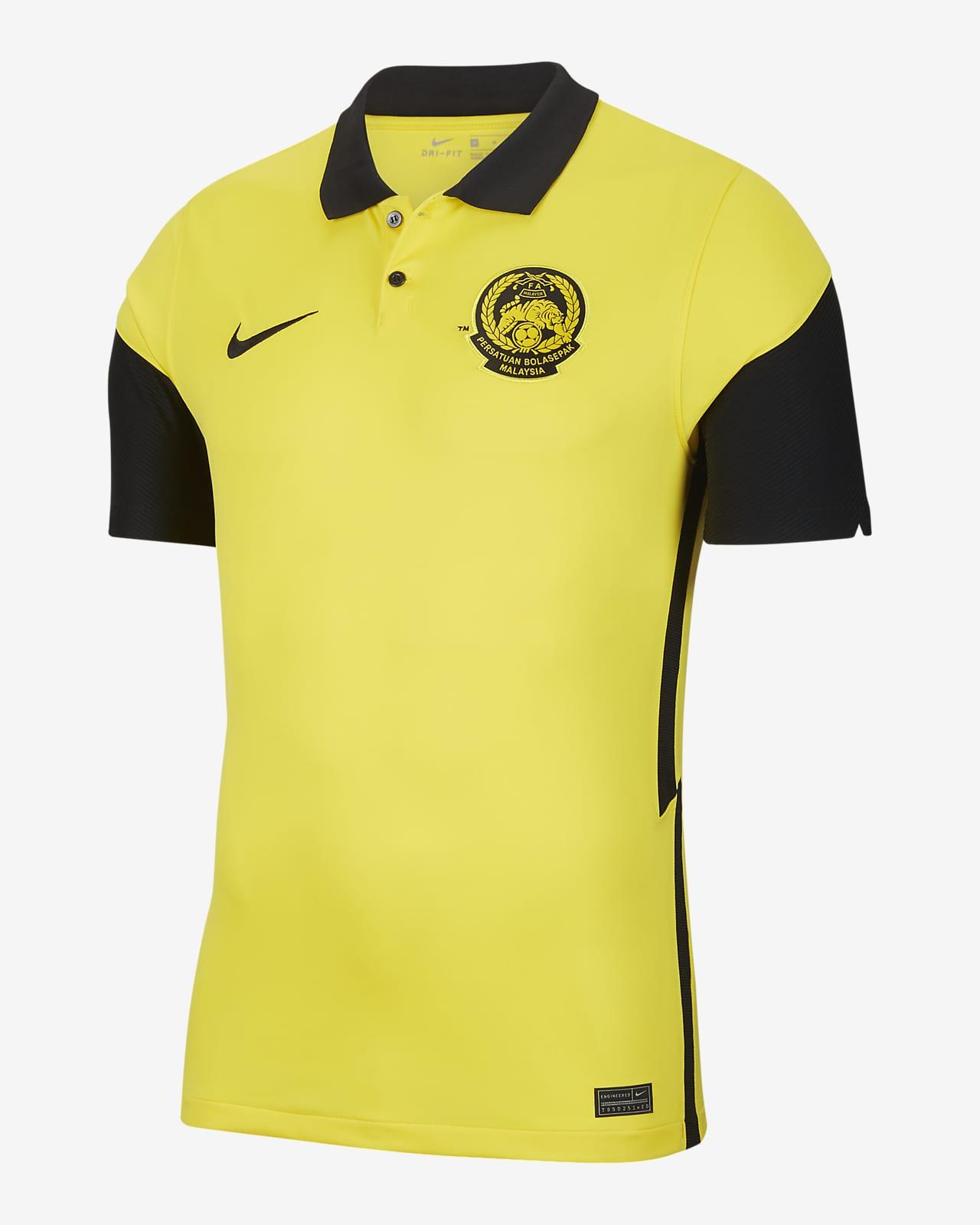 เสื้อแข่งฟุตบอลผู้ชาย Malaysia 2020 Stadium Home