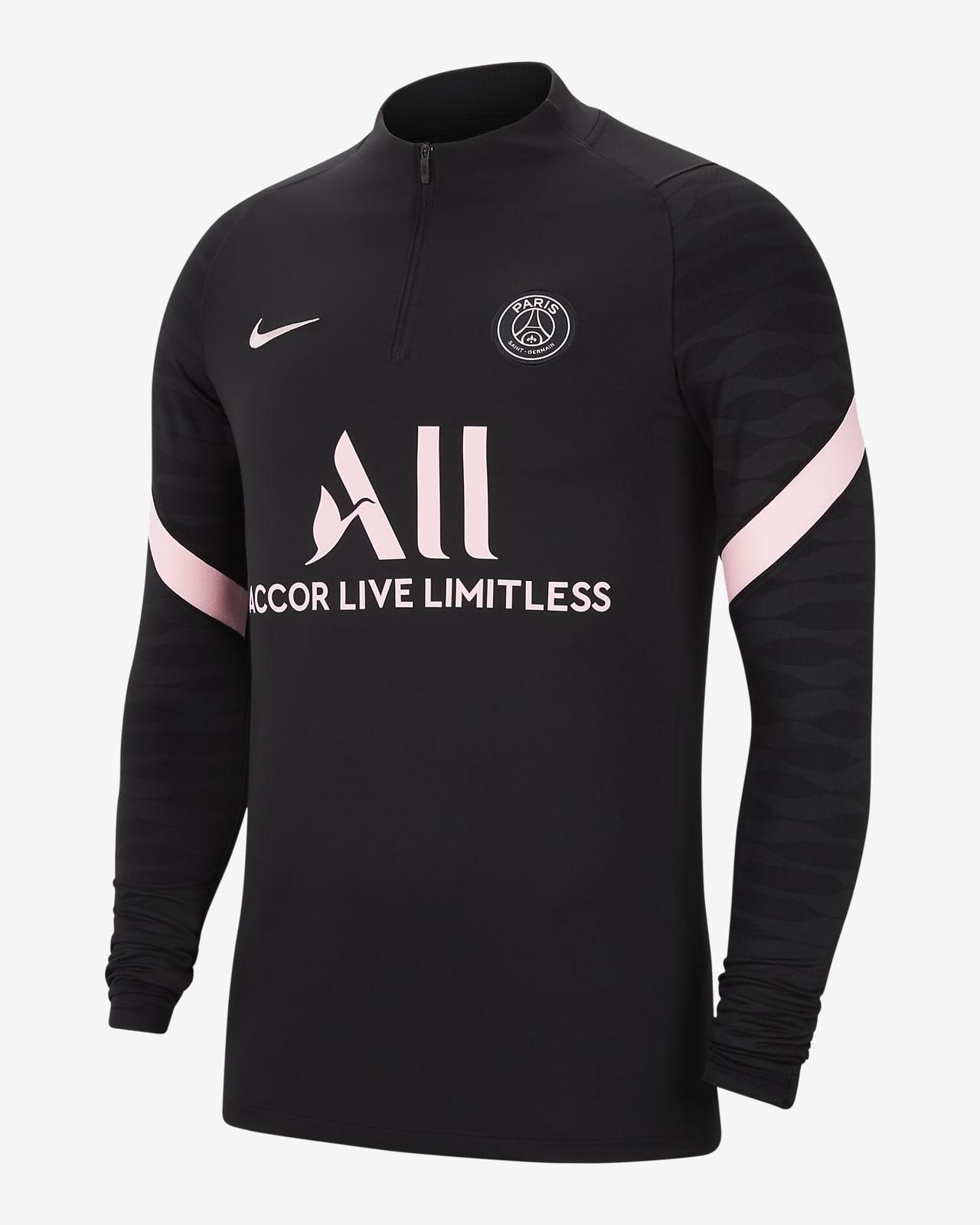 Camiseta de entrenamiento de fútbol Nike Dri-FIT para hombre Paris Saint-Germain Strike Away