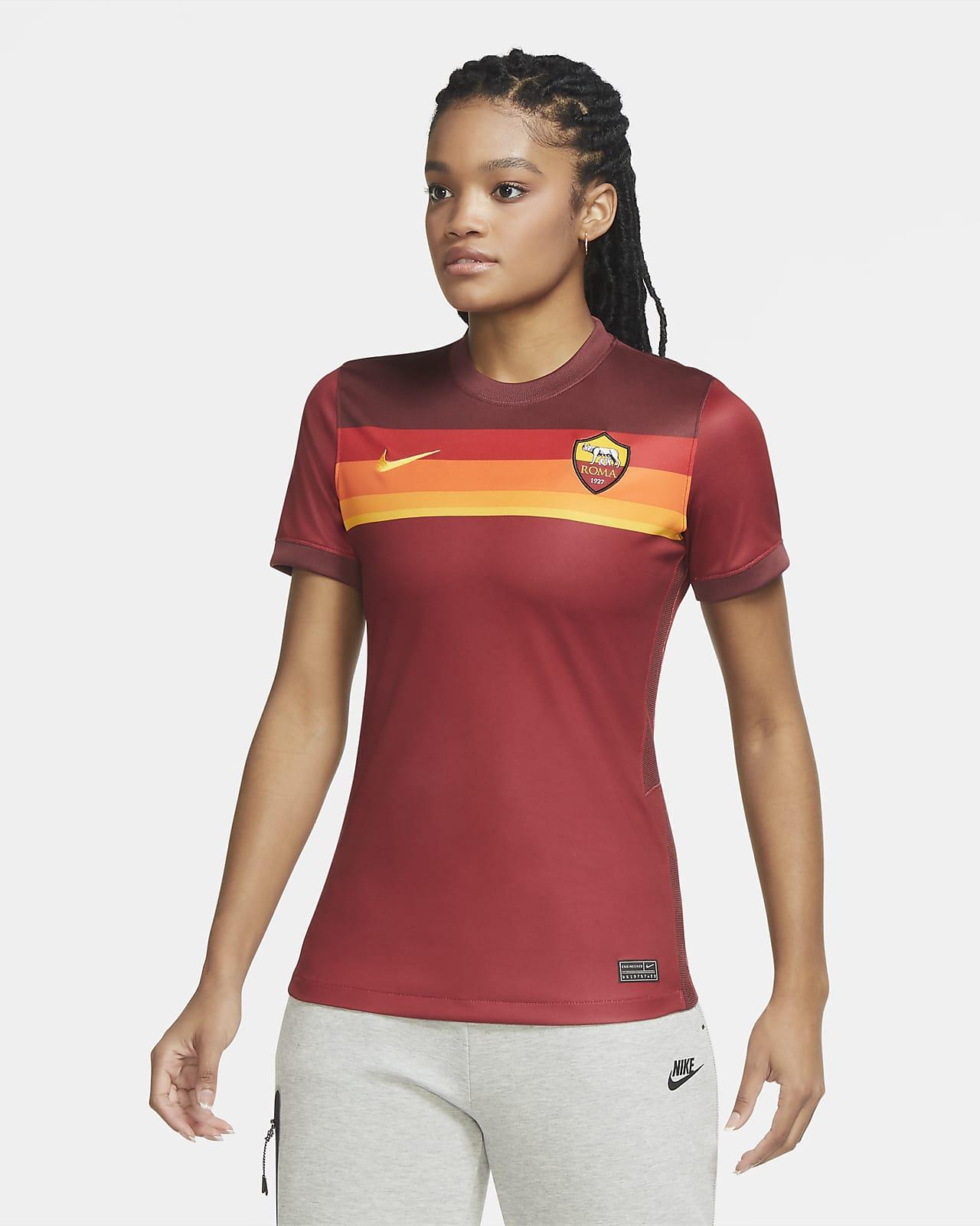 A.S. Roma 2020/21 Stadyum İç Saha Kadın Futbol Forması