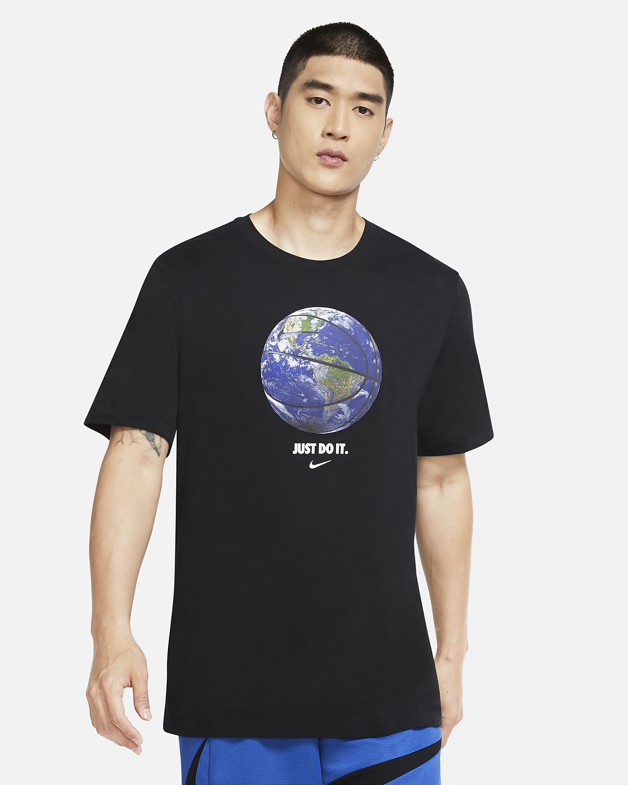 Tee-shirt de basketball Nike Dri-FIT « World Ball » pour Homme