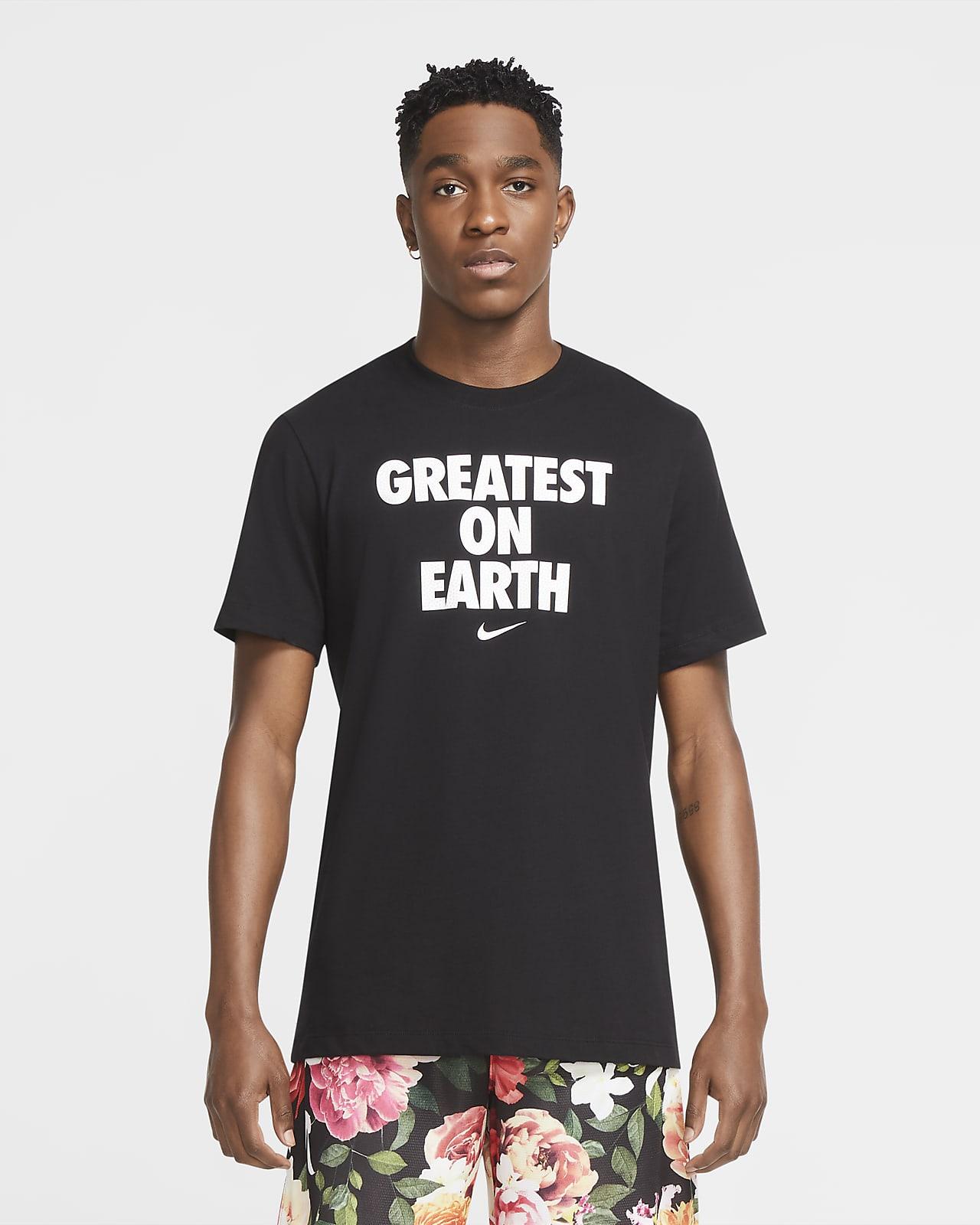 "Basket-t-shirt Nike Dri-FIT ""Greatest On Earth"" för män"