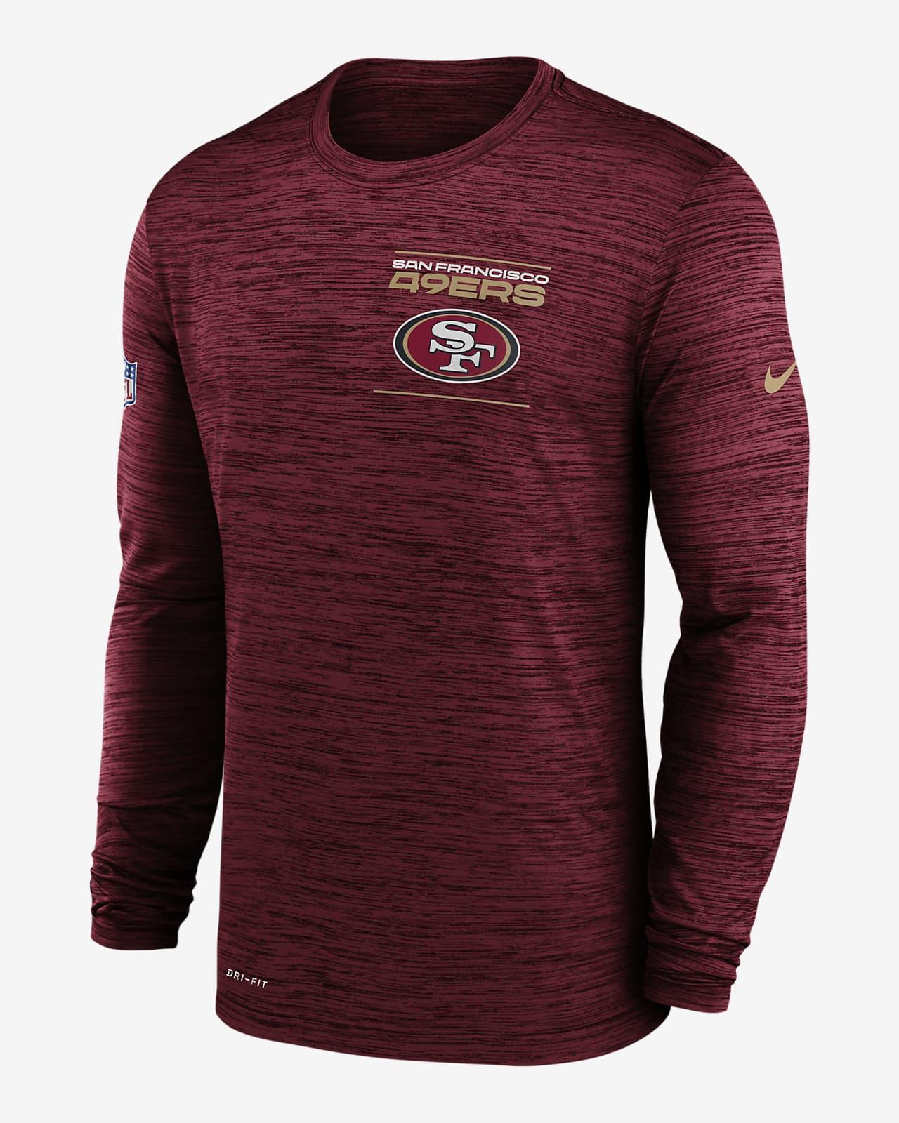 Nike Dri-FIT Sideline Velocity Legend (NFL San Francisco 49ers) Men's Long-Sleeve T-Shirt