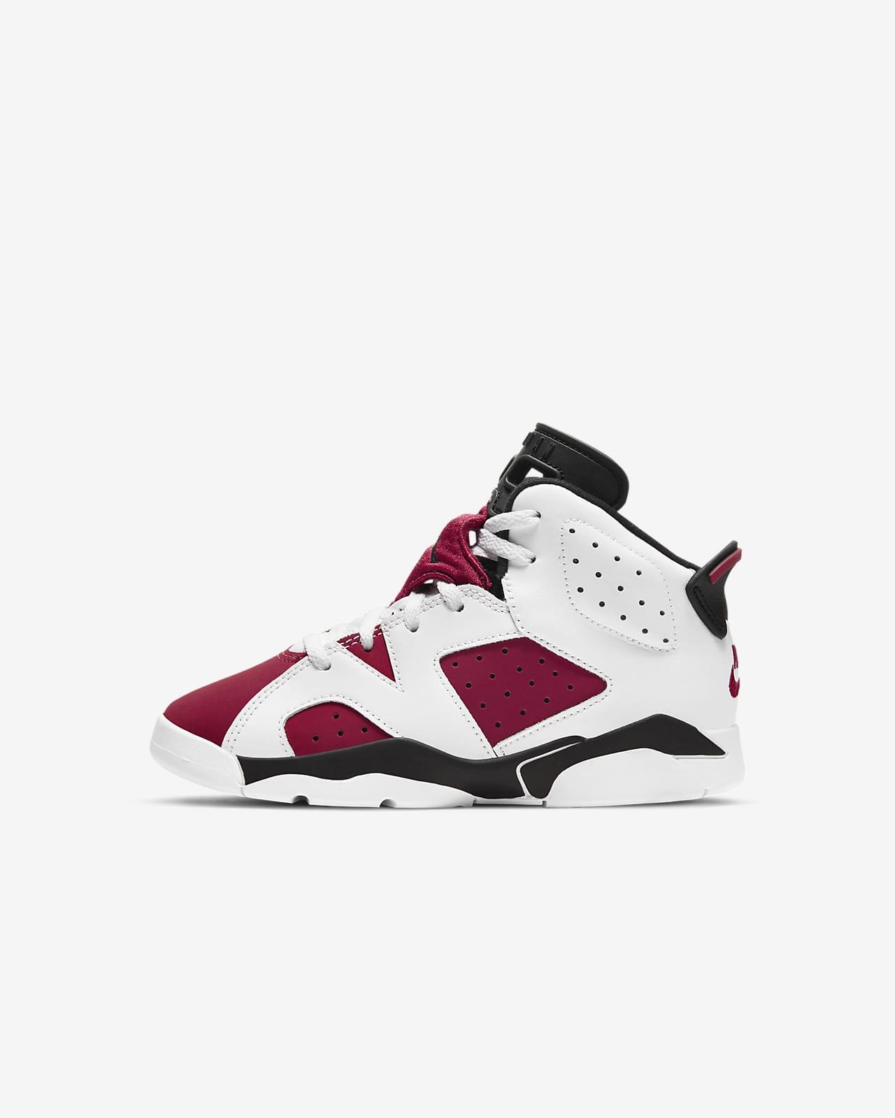 Jordan 6 Retro (PS) Younger Kids' Shoe