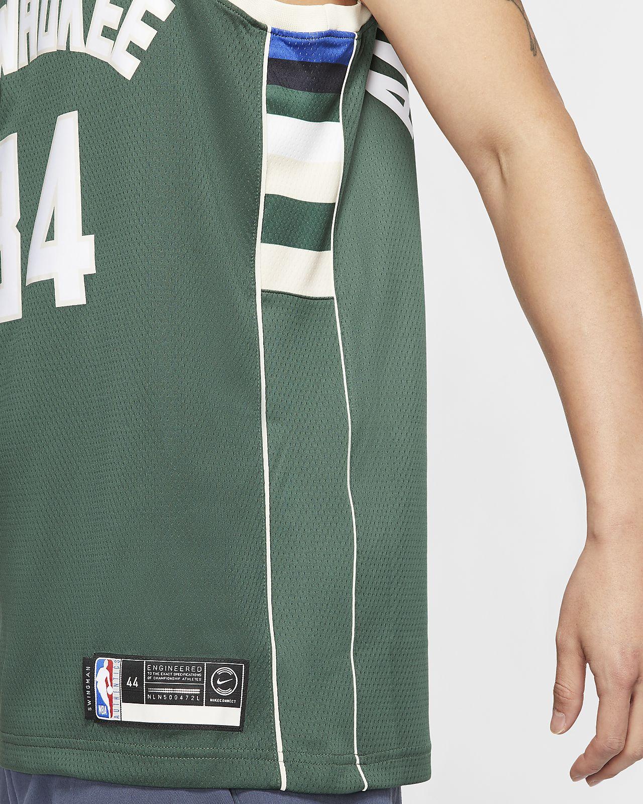 Giannis Antetokounmpo Bucks Icon Edition Camiseta Nike NBA Swingman Hombre