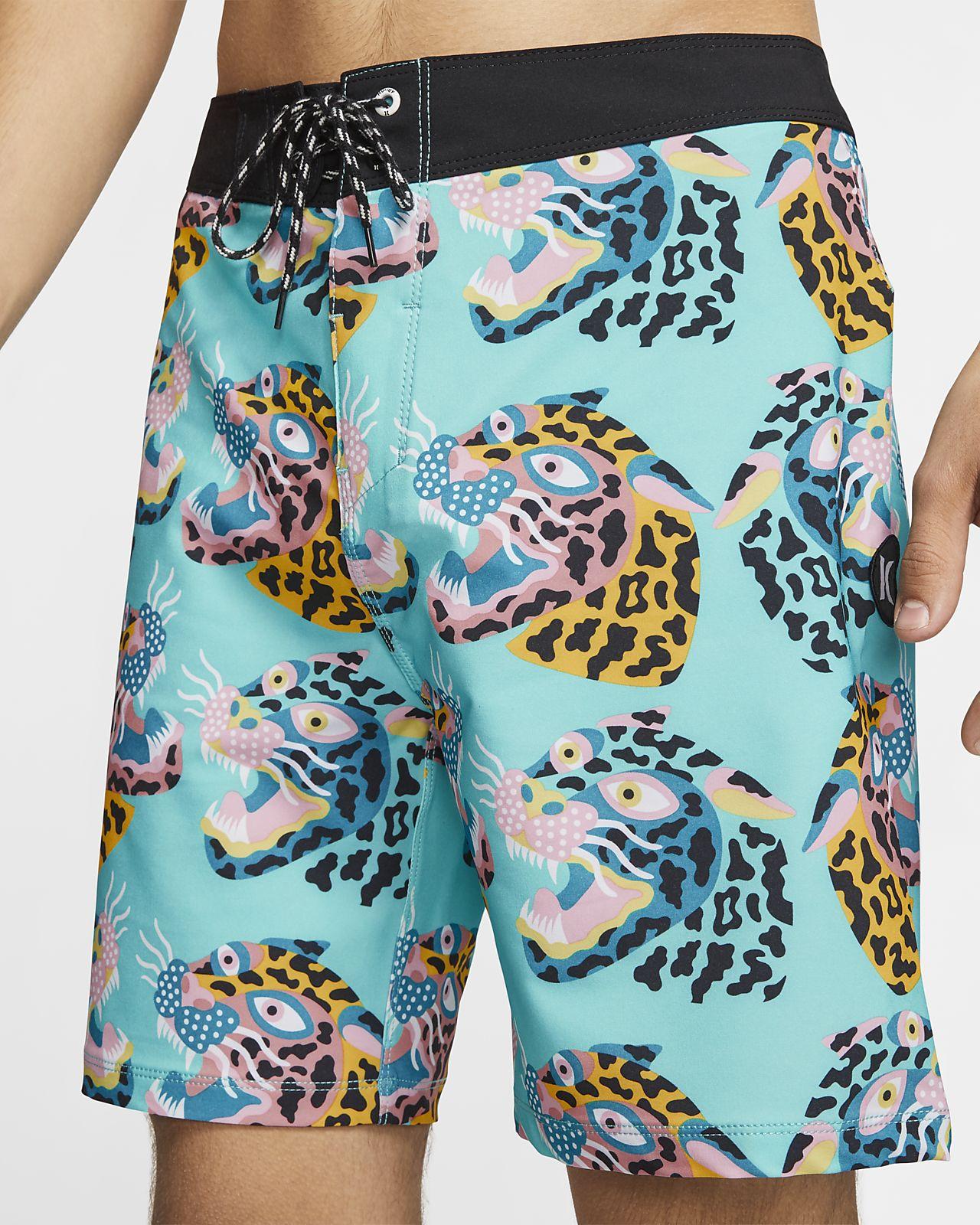 Shorts de playa de 46 cm para hombre Hurley Phantom Sumatra