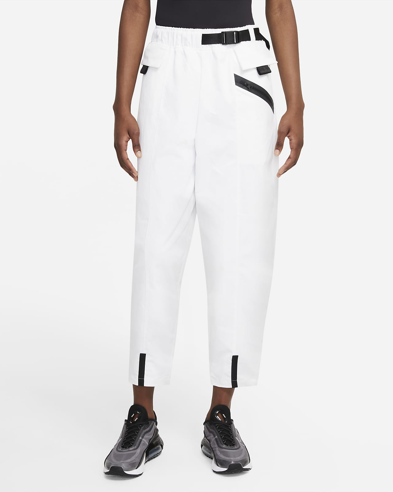 Pantaloni Curve in tessuto Nike Sportswear Tech Pack - Donna