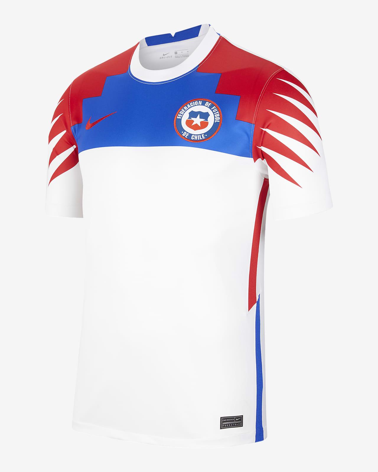 Chile 2020/21 Stadium Away Herren-Fußballtrikot