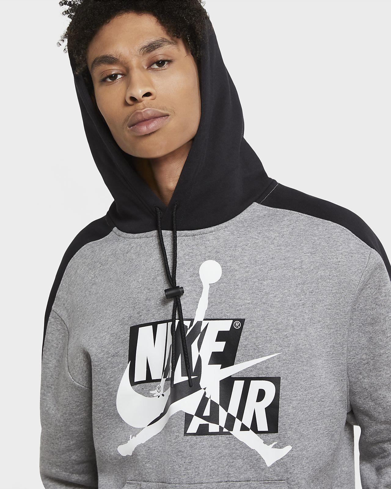 Sweat à capuche en tissu Fleece Jordan Jumpman Classics pour Homme