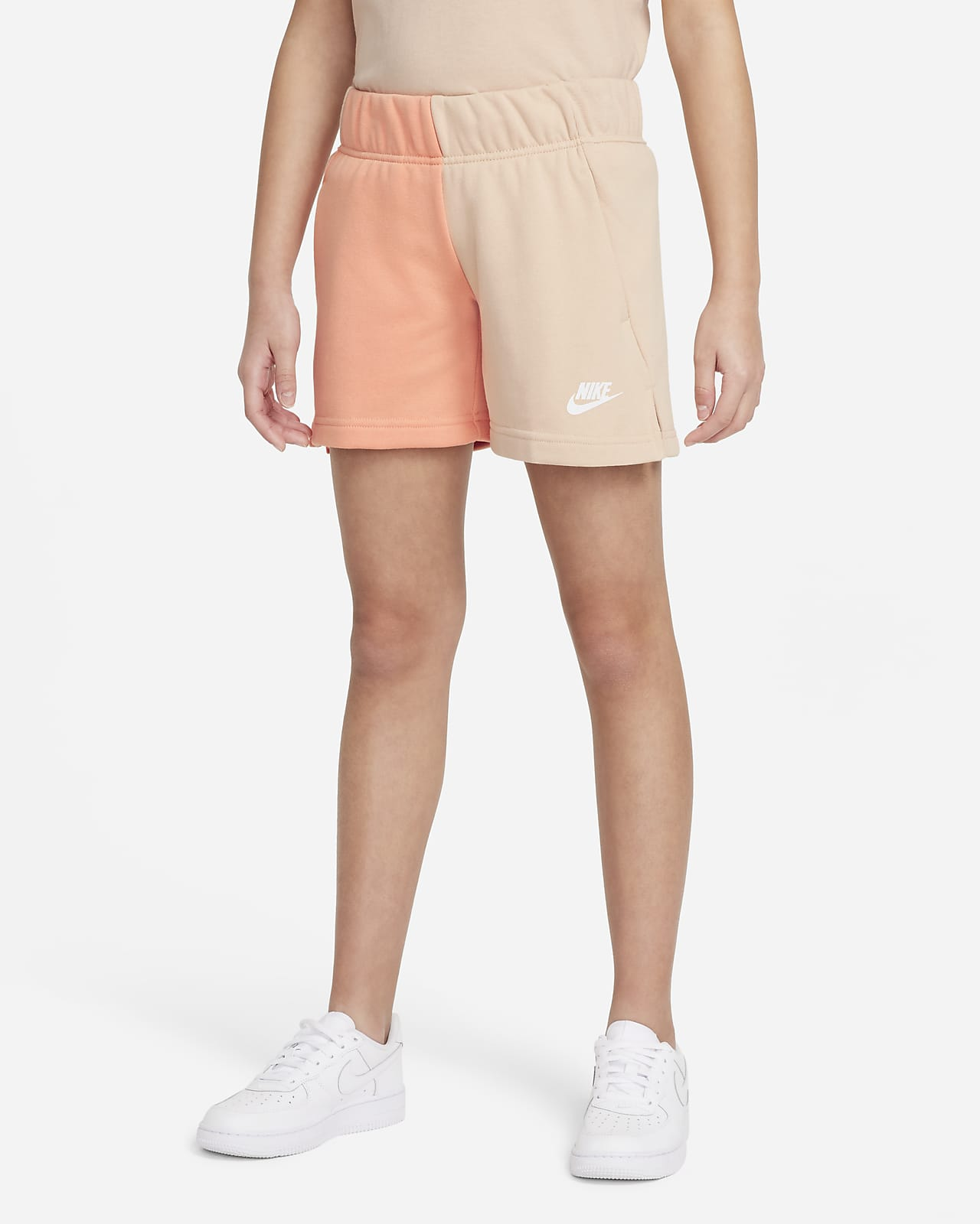 Shorts in French Terry Nike Sportswear - Ragazza