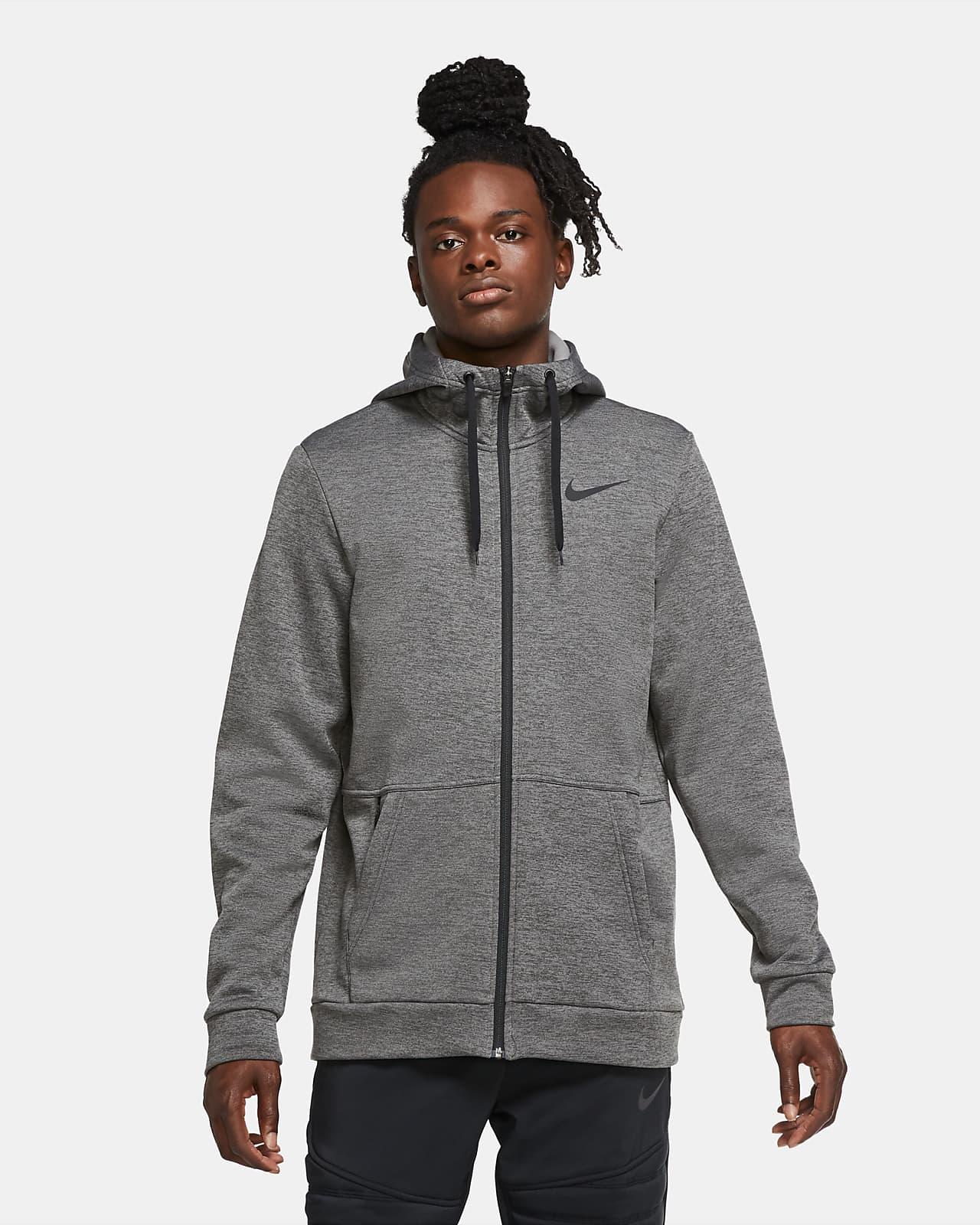Sweat à capuche de training à zip Nike Therma pour Homme