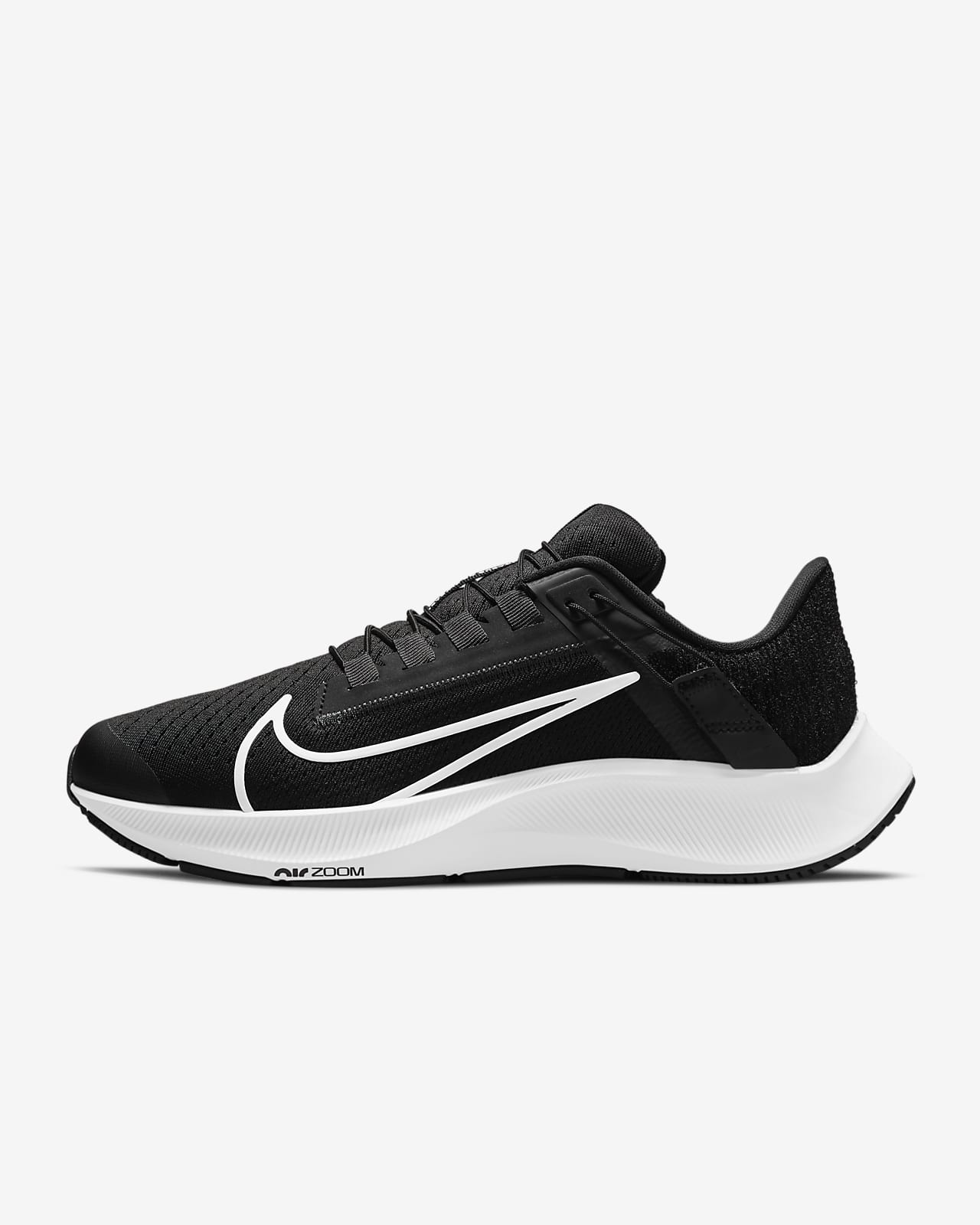 Nike Air Zoom Pegasus 38 FlyEase Women's Easy On/Off Road Running Shoes (Wide)