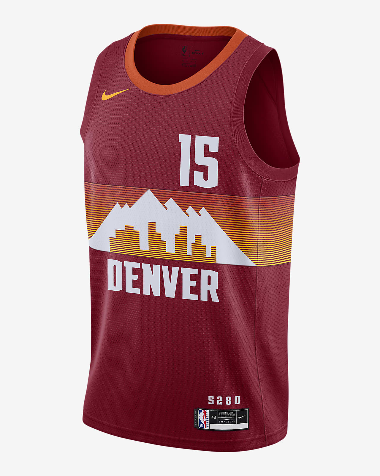 Denver Nuggets City Edition Nike NBA Swingman Jersey