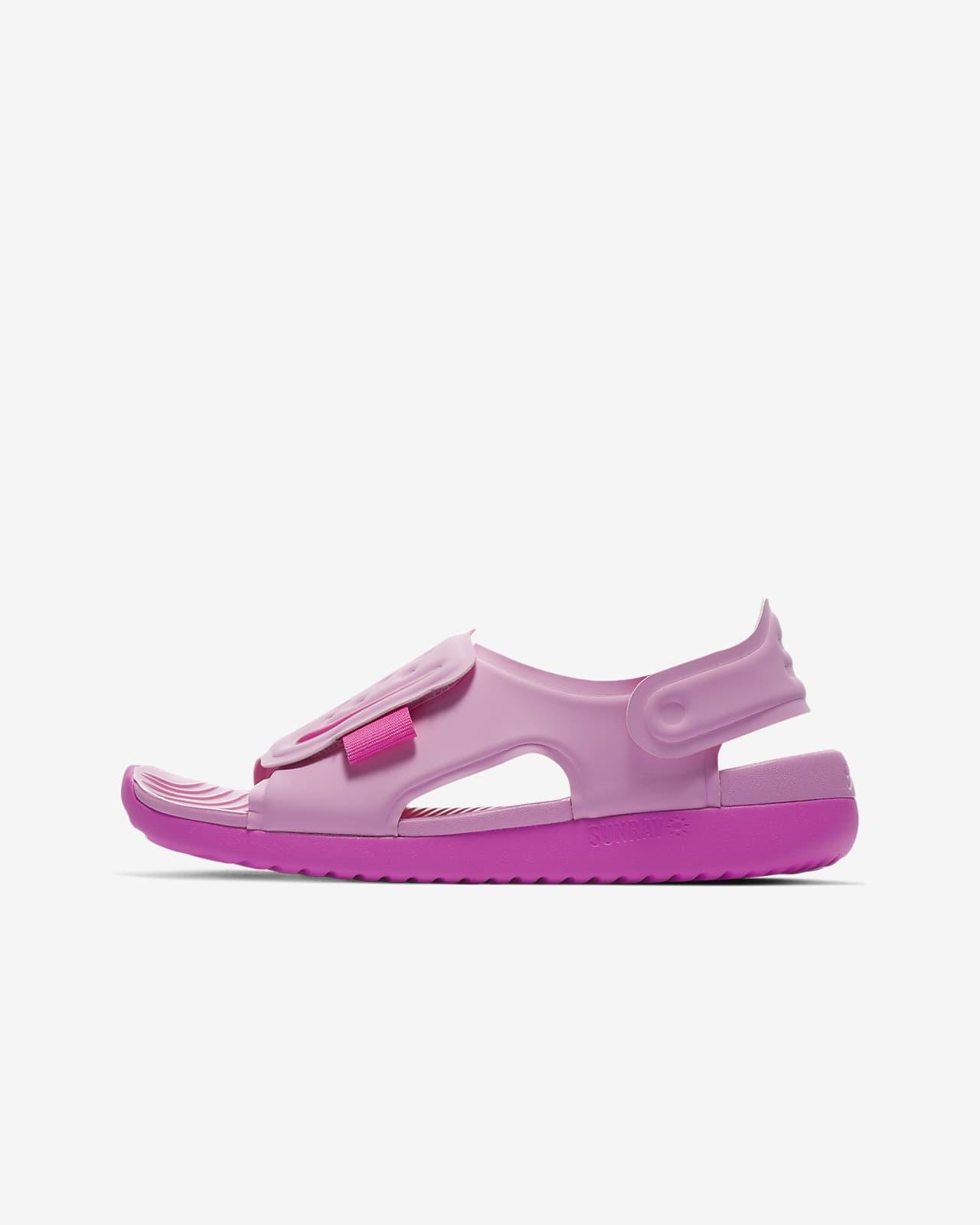 Nike Sunray Adjust 5-sandaler til små/store børn