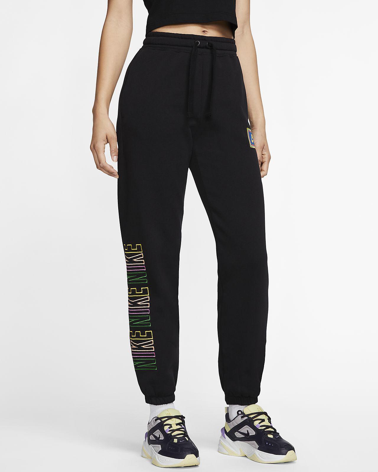 Pantalones de tejido Fleece para mujer Nike Sportswear
