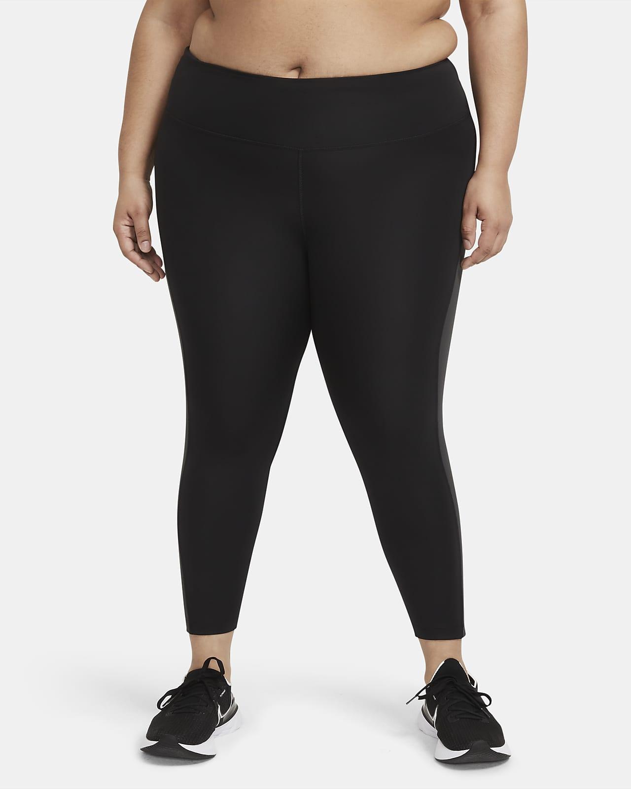 Damskie legginsy 7/8 ze średnim stanem do biegania Nike Epic Fast (duże rozmiary)