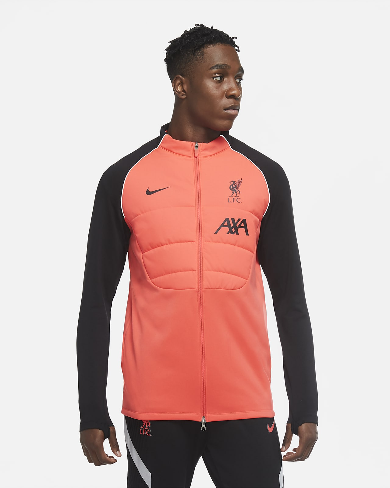 Liverpool F.C. Strike Men's Synthetic-Fill Football Drill Jacket