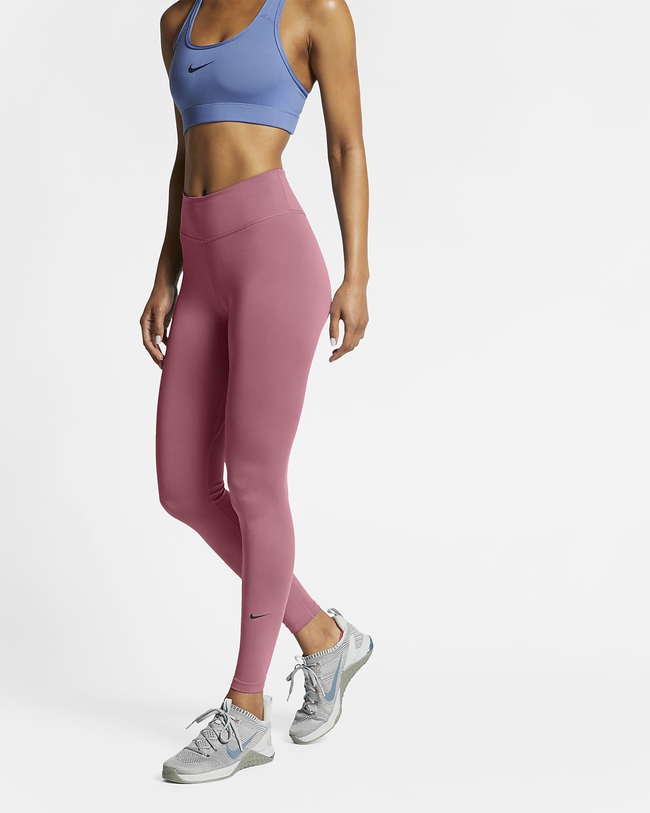 Женские тайтсы со средней посадкой Nike One