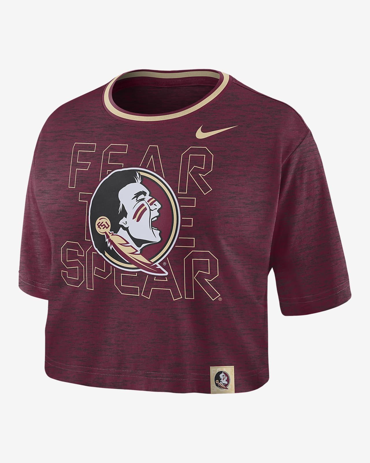 Nike College (Florida State) Women's Crop T-Shirt