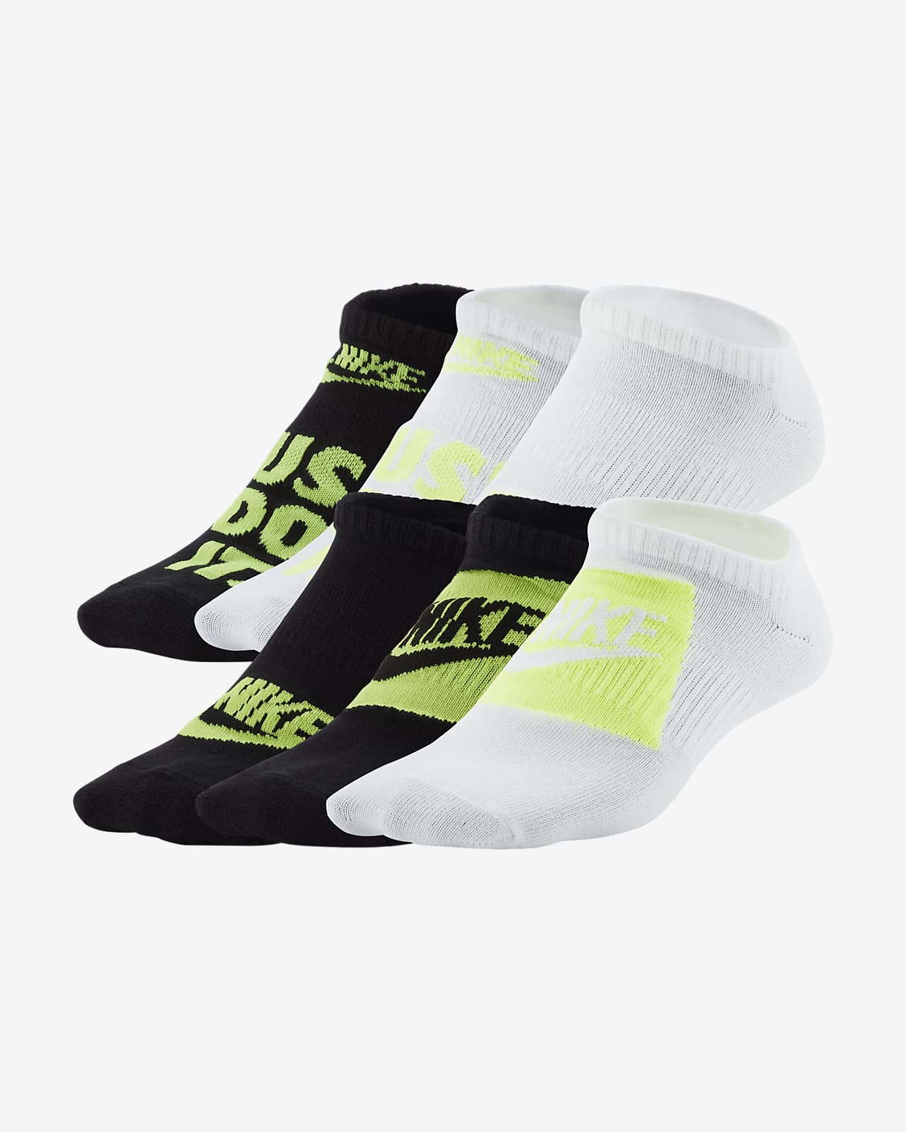 Calcetines ligeros invisibles para niño (talla grande) Nike Everyday (6 pares)