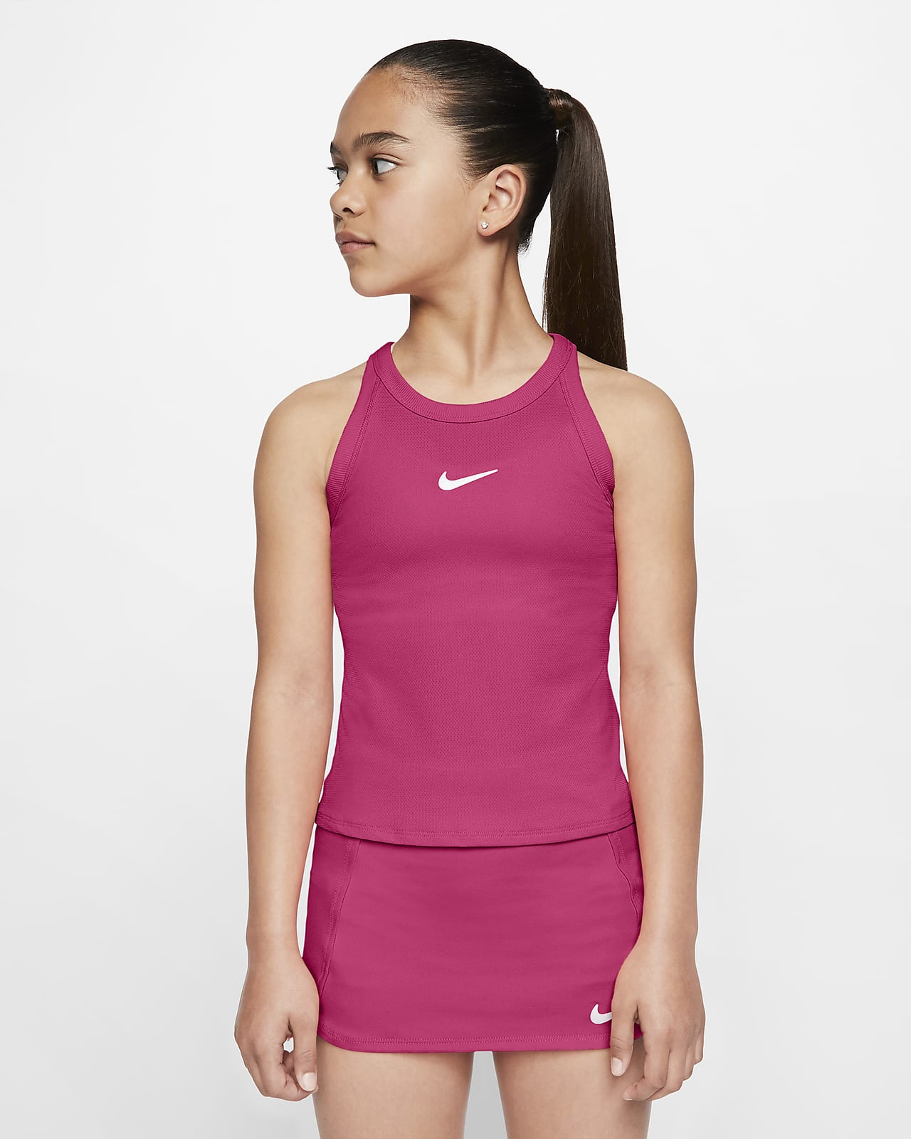 Canotta da tennis NikeCourt Dri-FIT - Ragazza