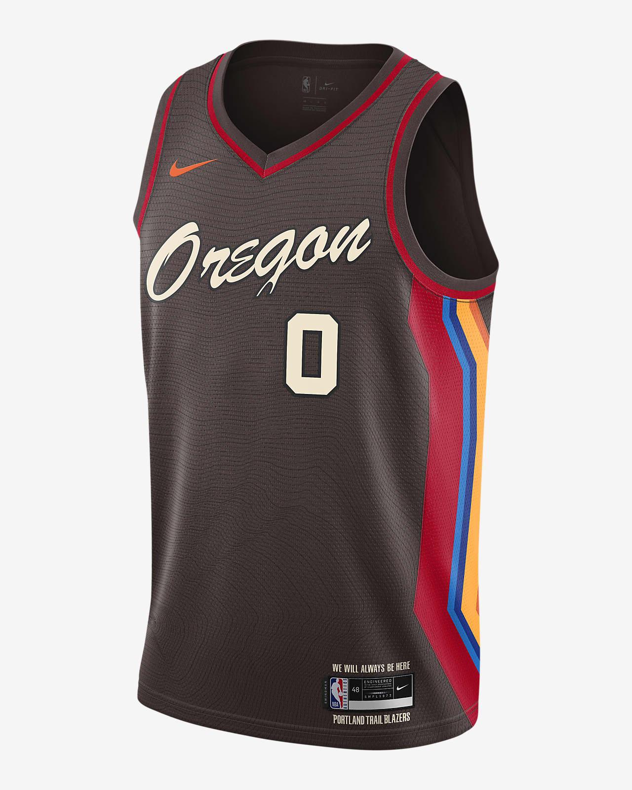 Portland Trail Blazers City Edition Nike NBA Swingman Jersey