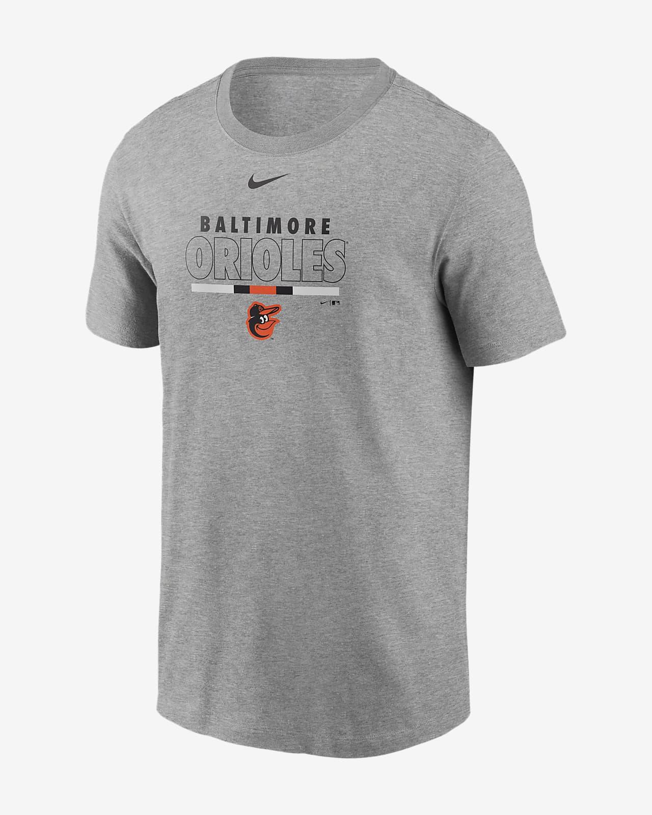 Nike Color Bar (MLB Baltimore Orioles) Men's T-Shirt