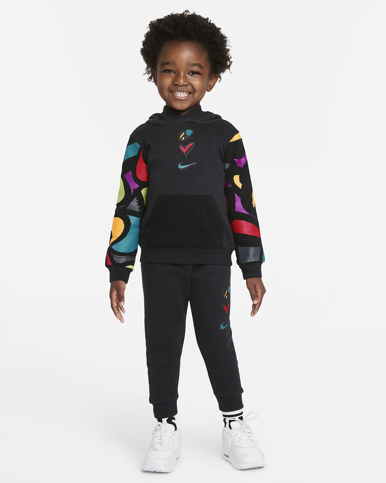 Nike Sportswear Club Fleece Toddler Hoodie and Joggers Set