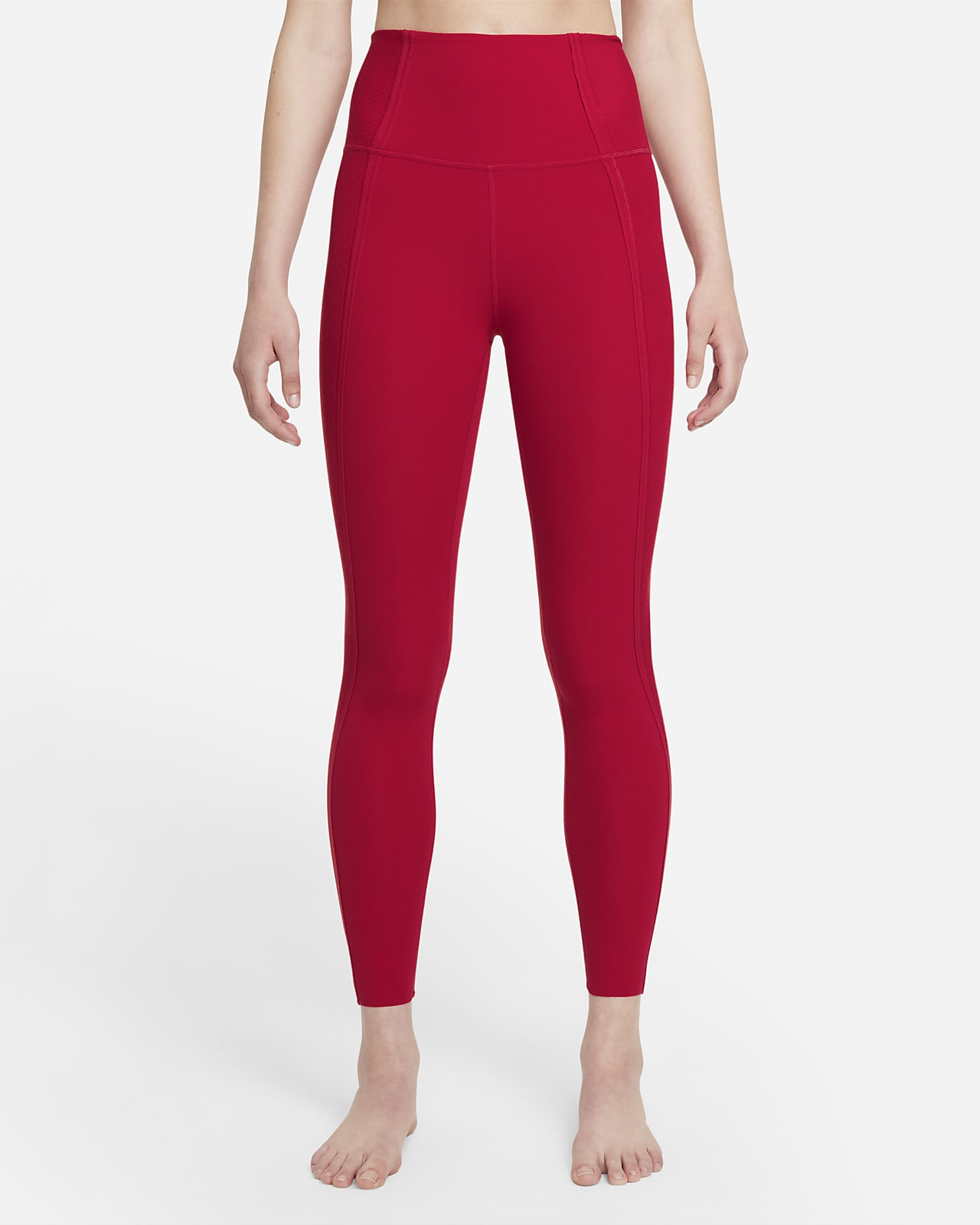 Nike Yoga Luxe Dri-FIT 7/8-Infinalon legging met hoge taille voor dames
