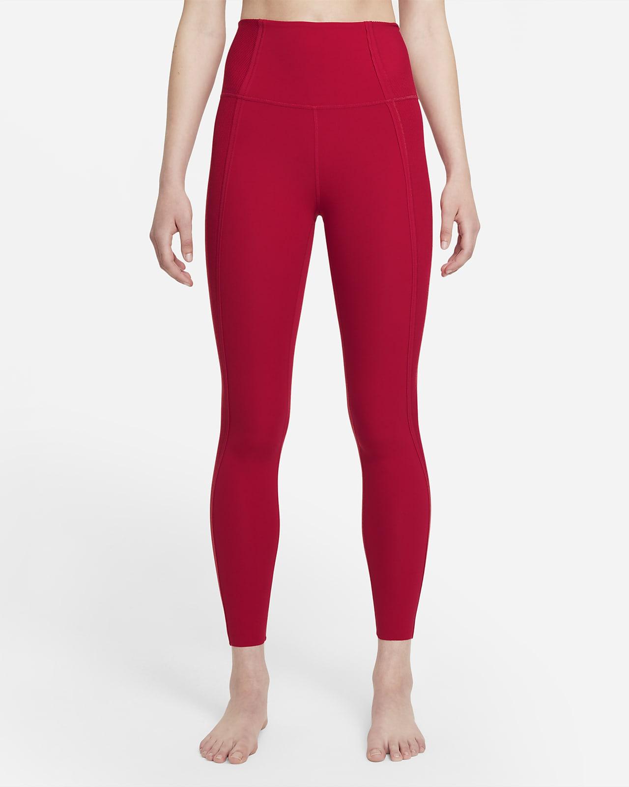 Nike Yoga Luxe Dri-FIT Infinalon-leggings i 7/8 lengde med høyt liv til dame