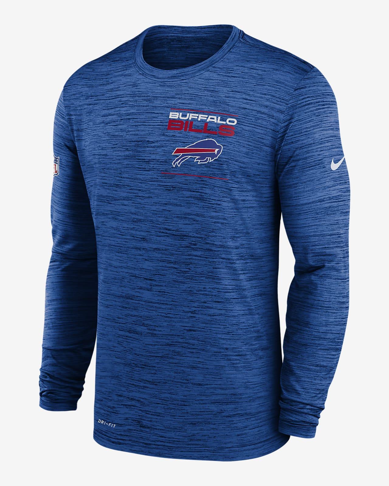 Nike Dri-FIT Sideline Velocity Legend (NFL Buffalo Bills) Men's Long-Sleeve T-Shirt