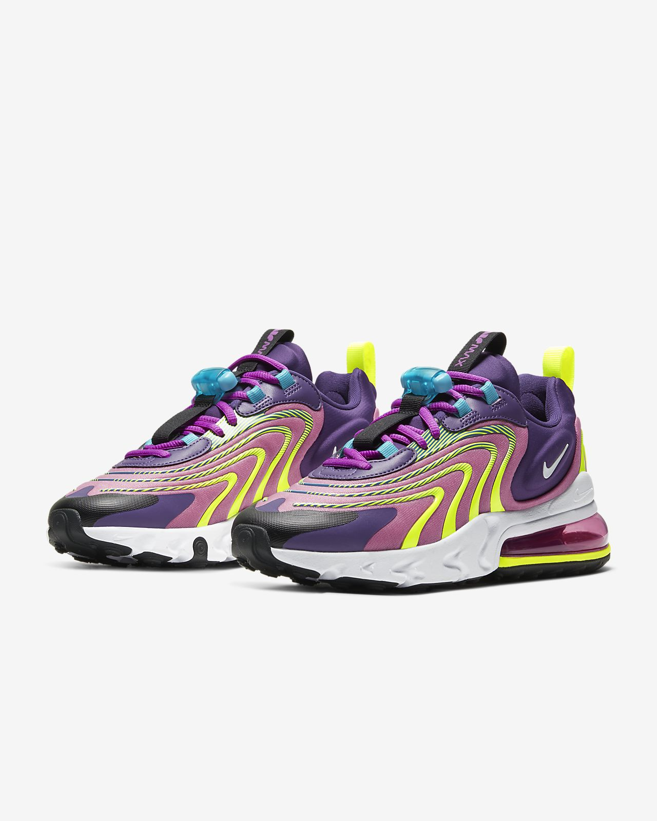 men's nike air max 270 react eng running shoes