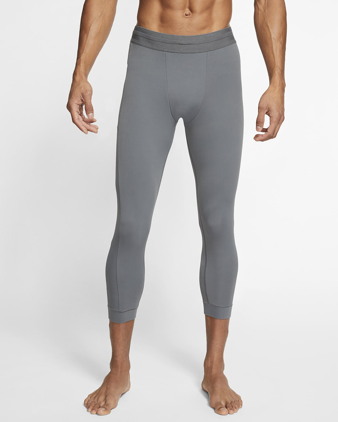Tights a 3/4 em Infinalon Nike Yoga Dri-FIT para homem