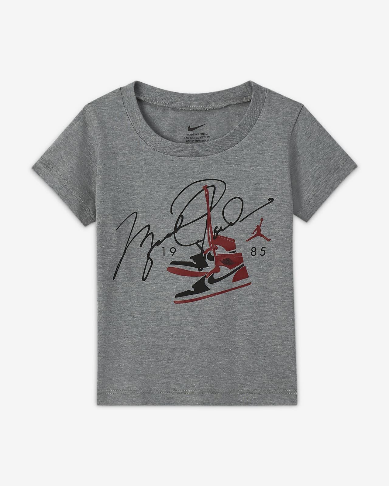Jordan Kurzarm-T-Shirt für Babys (12–24 M)