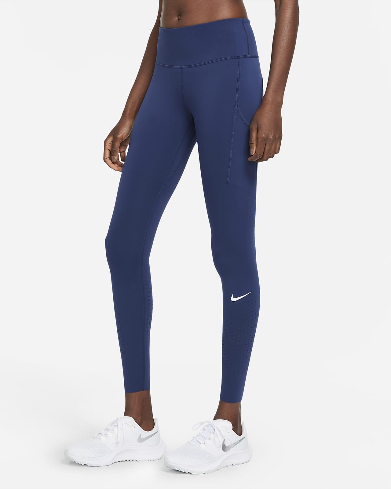 Nike Epic Luxe Hardlooplegging met halfhoge taille voor dames