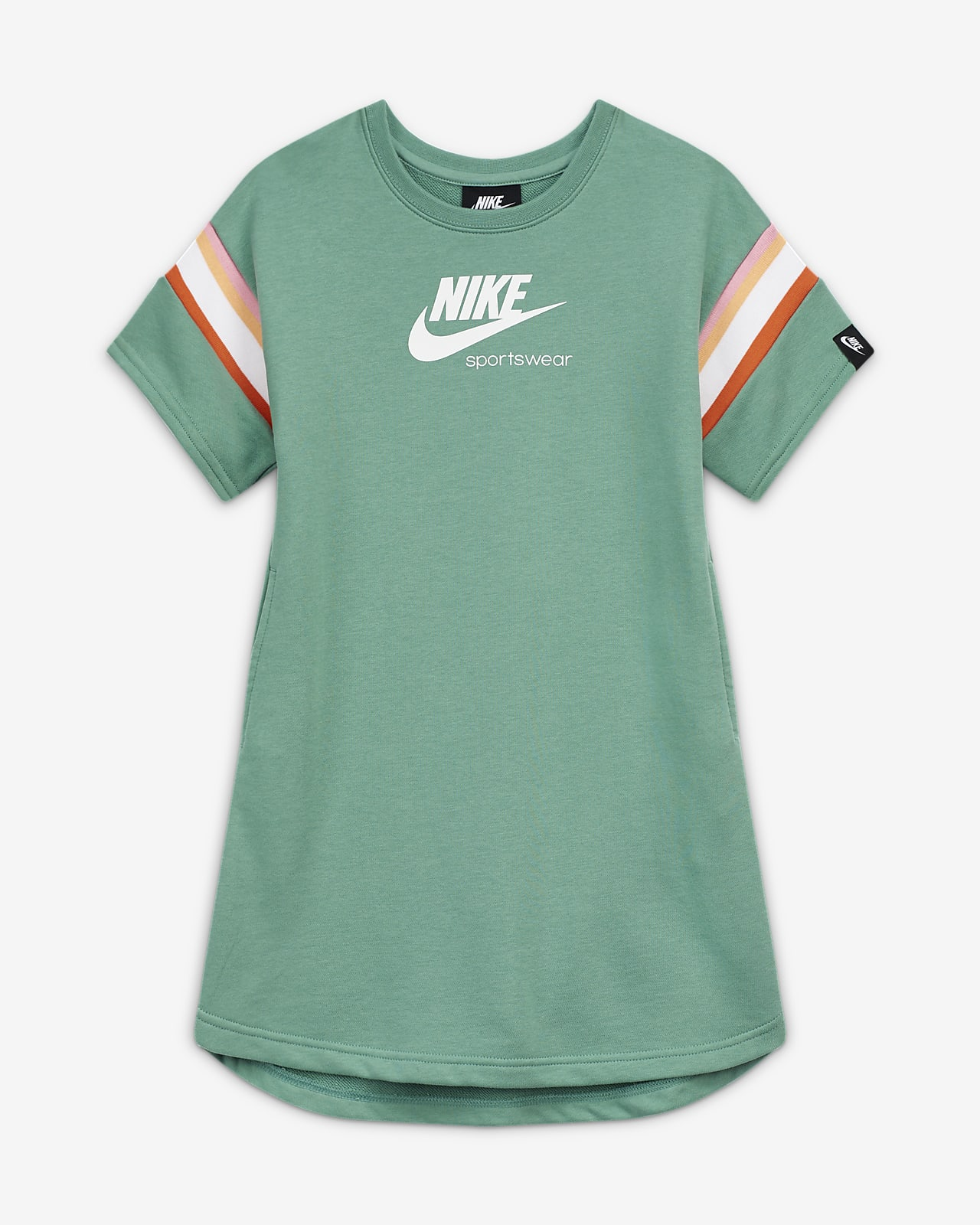 Nike Sportswear Heritage Big Kids' (Girls') Short-Sleeve Dress