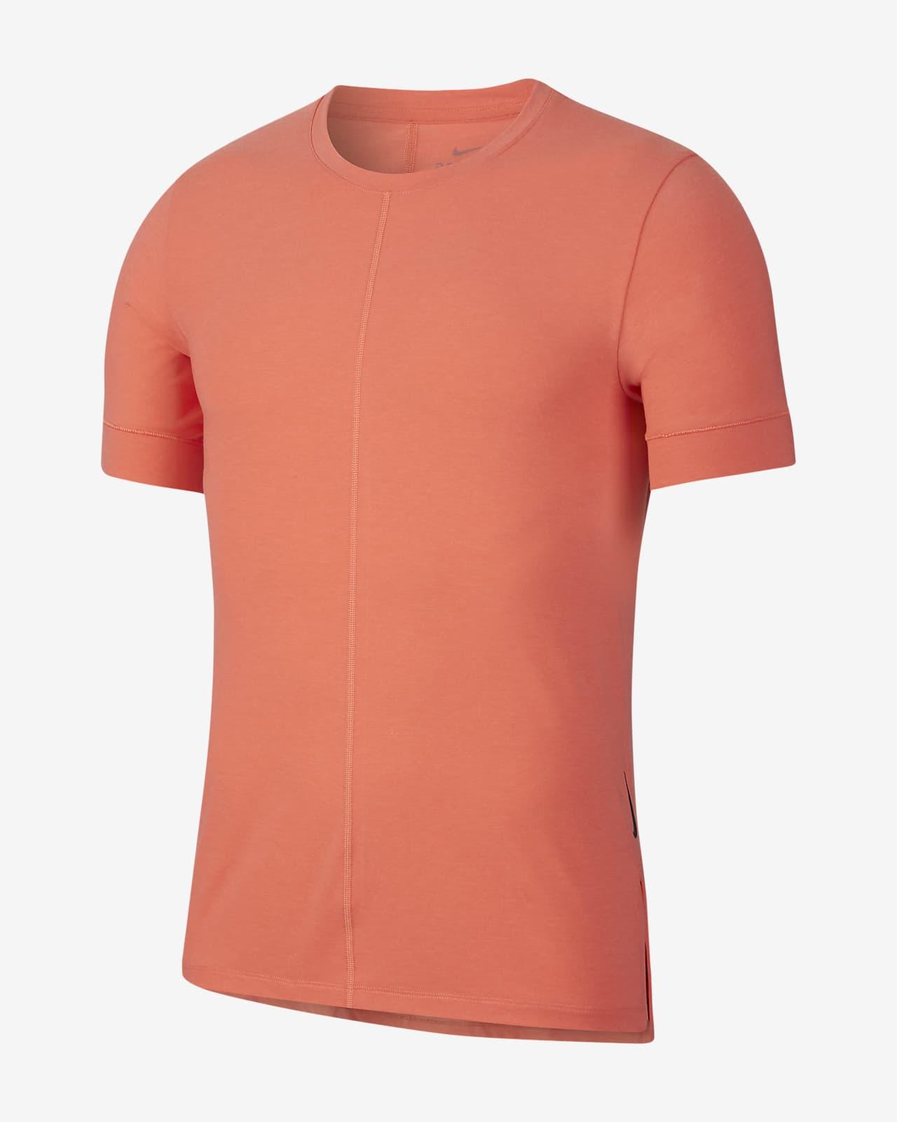 Nike Yoga 男子短袖上衣