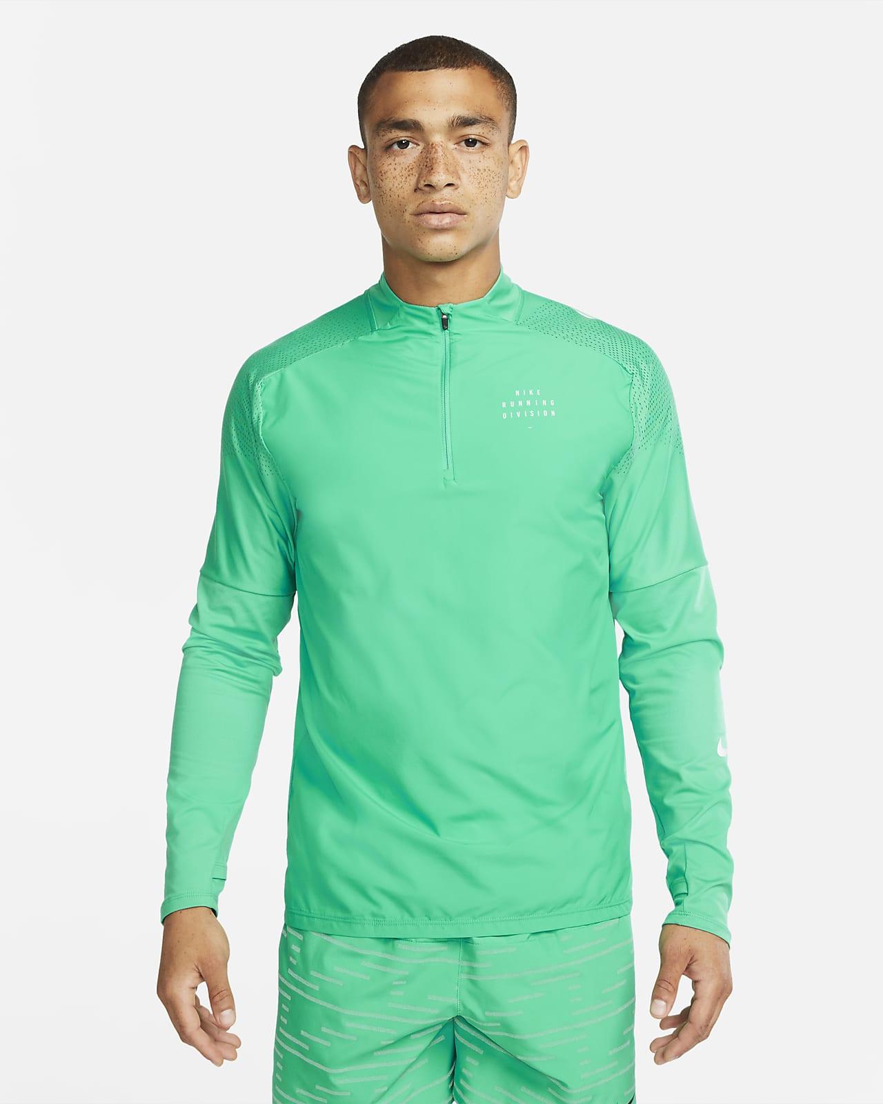 Pánské běžecké tričko Nike Dri-FIT Run Division Flash Element spolovičním zipem