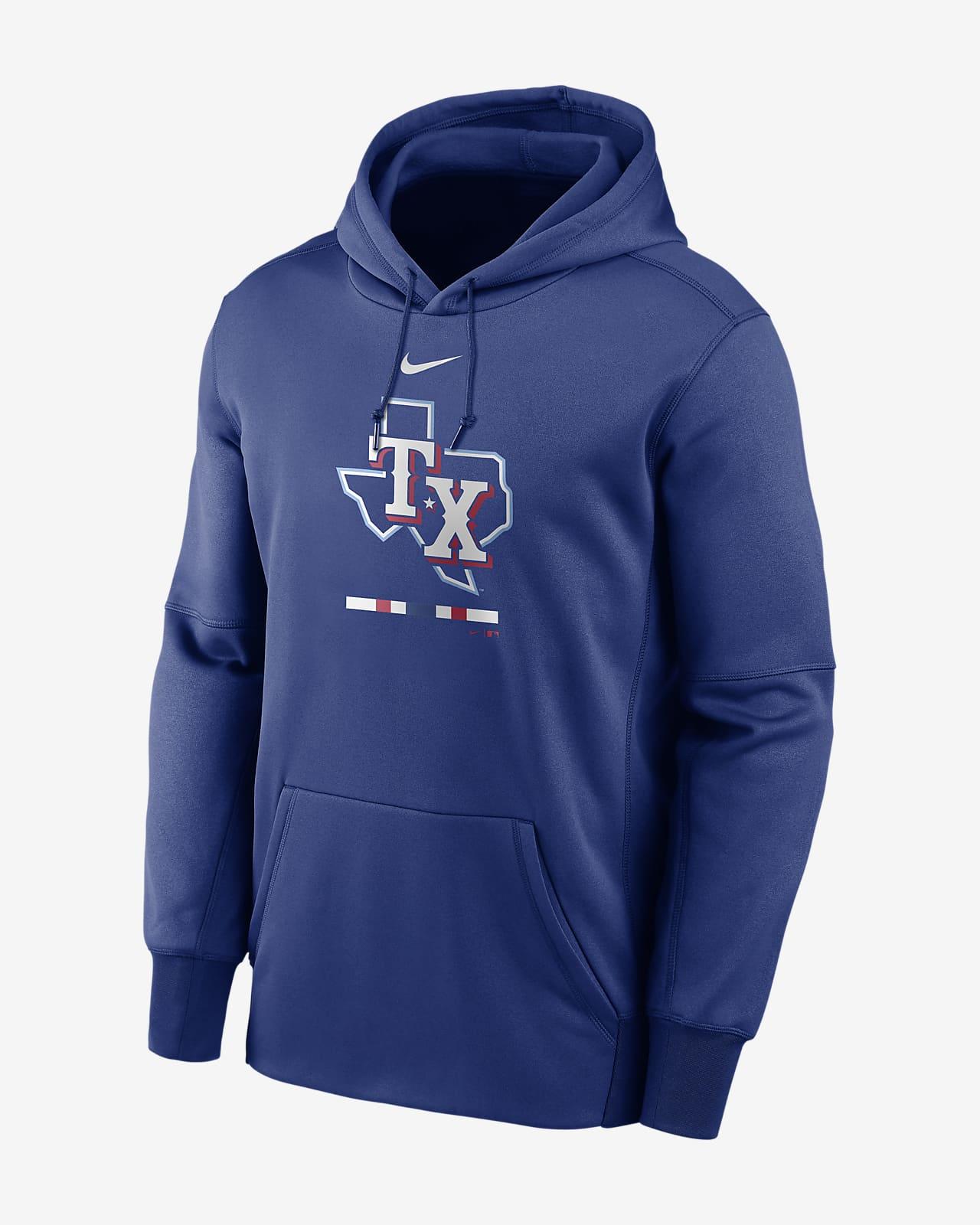 Nike Therma Legacy Performance (MLB Texas Rangers) Hoodie
