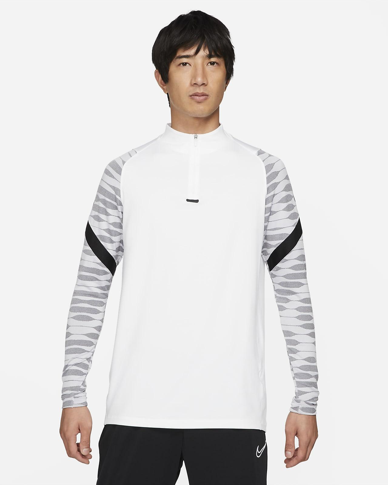 Nike Dri-FIT Strike Camiseta de fútbol de entrenamiento con cremallera de 1/4 - Hombre