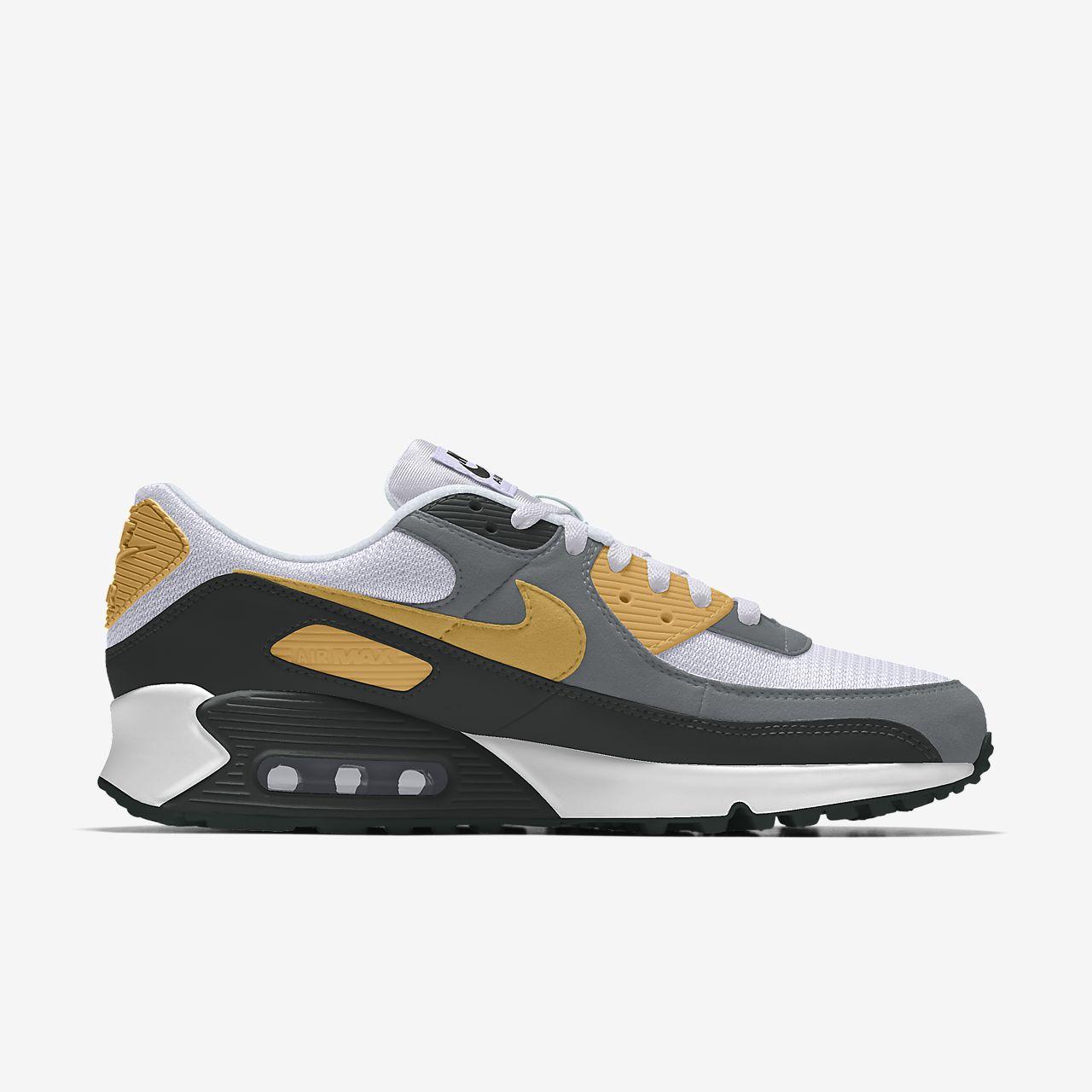 Specialdesignad sko Nike Air Max 90 By You för män