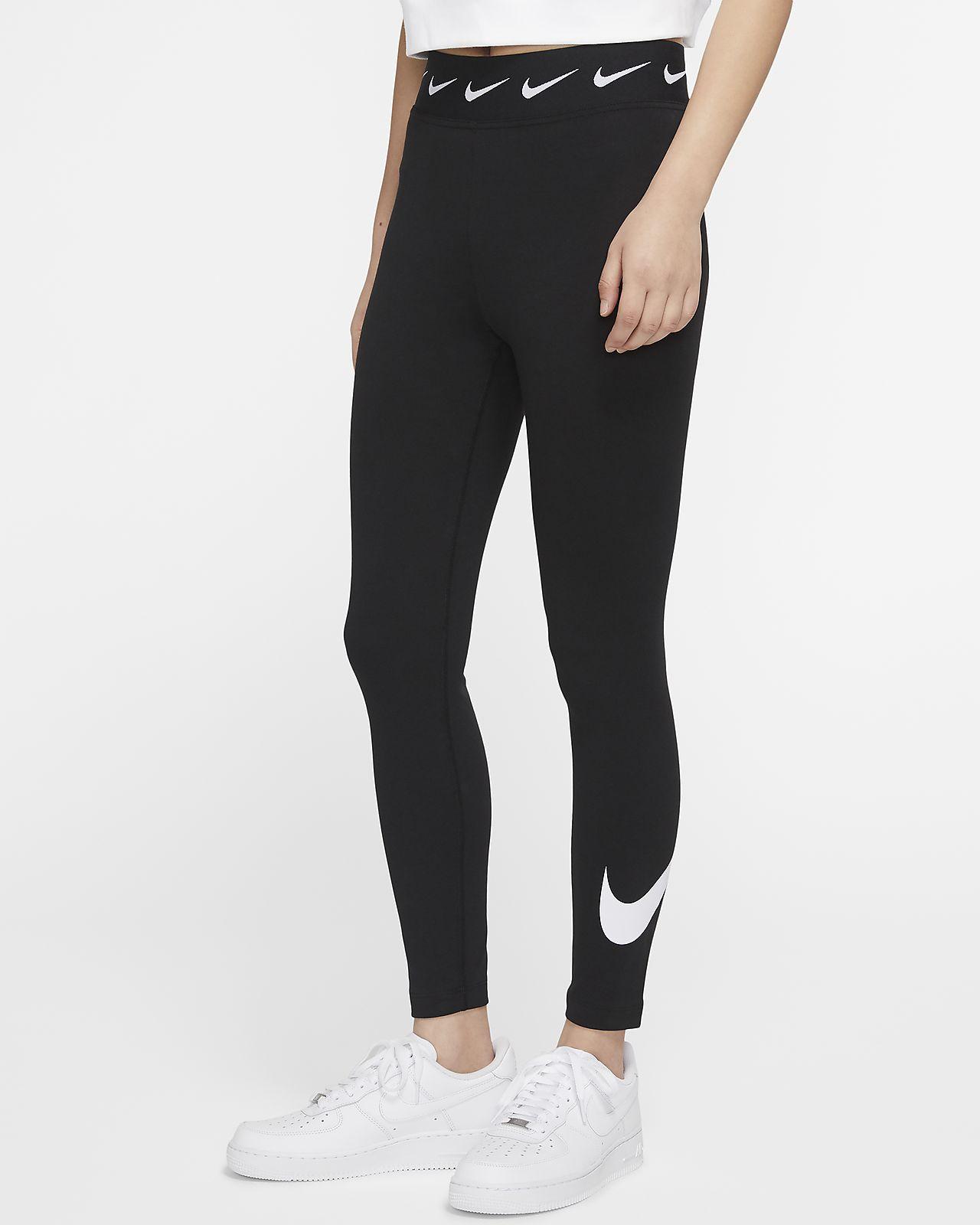 เลกกิ้งเอวสูงผู้หญิง Nike Sportswear Club