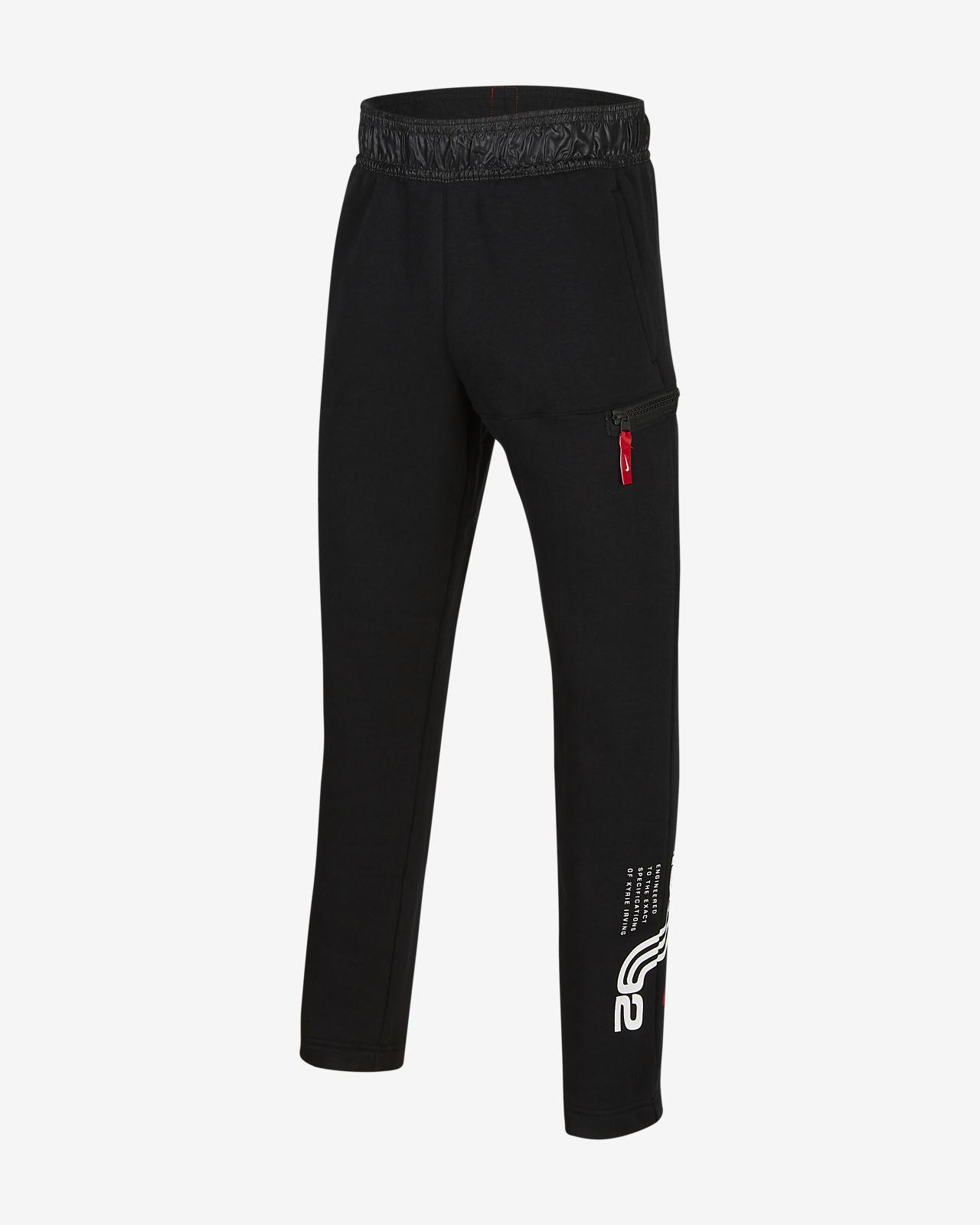 Kyrie Big Kids' Fleece Basketball Pants