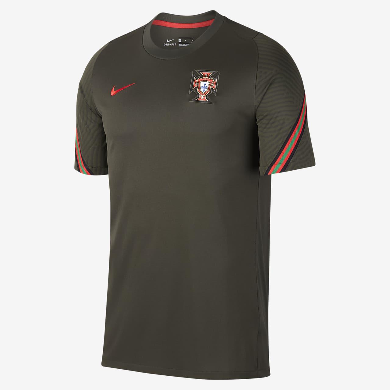 Kortærmet Portugal Strike-fodboldtrøje til mænd