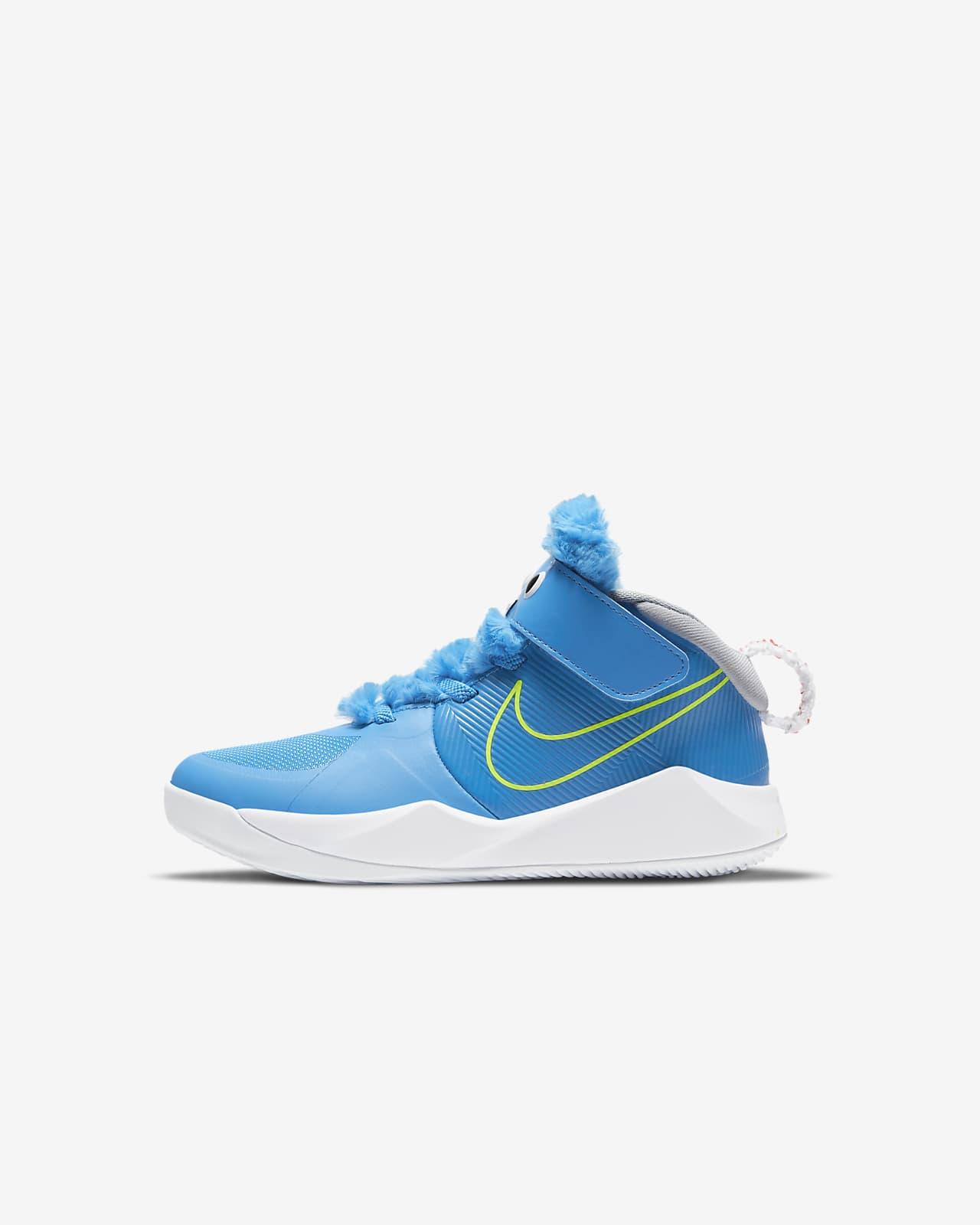 Nike Team Hustle D 9 Fast n Furry Younger Kids' Shoe