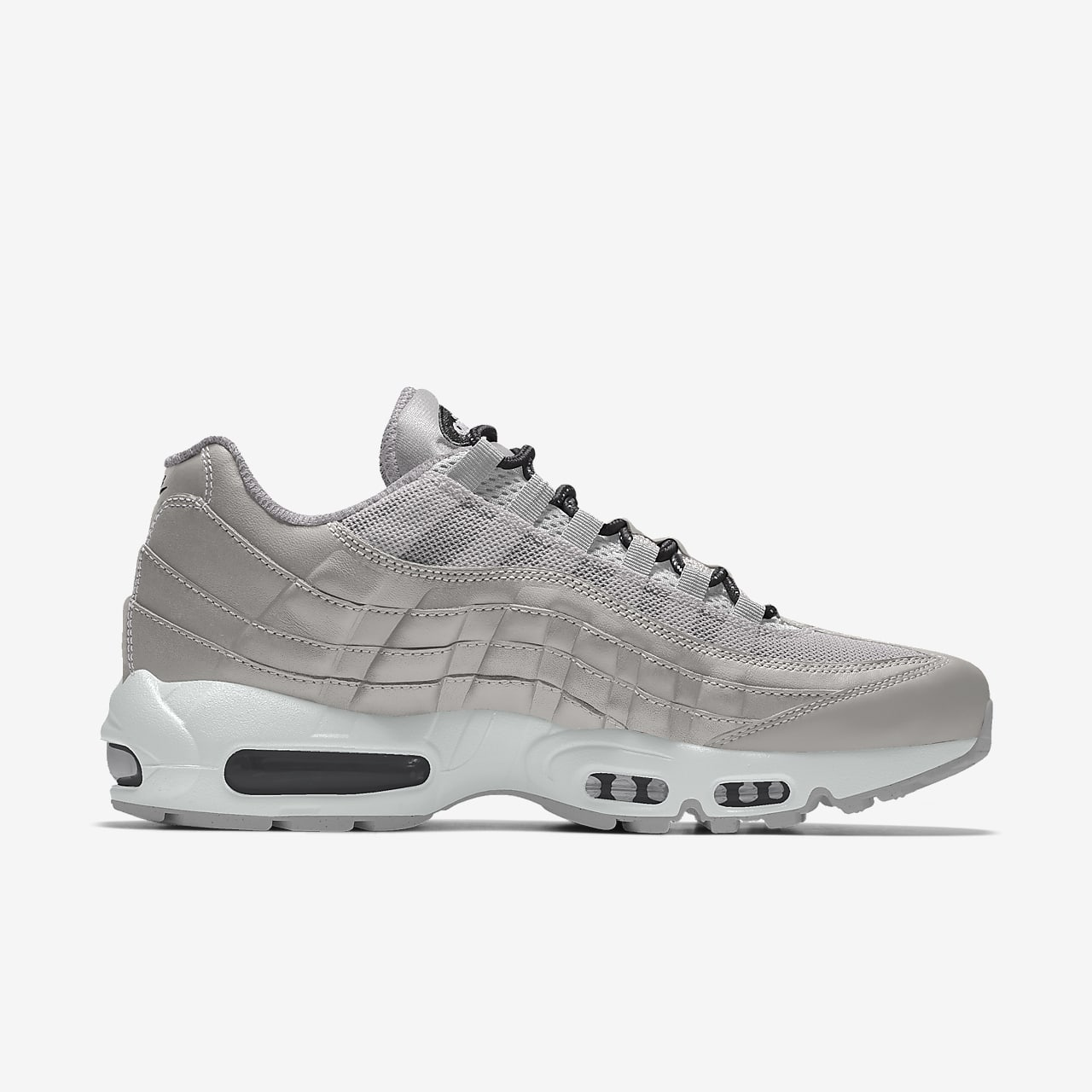 Nike Air Max 95 Unlocked By You Custom lifestyleschoen voor dames