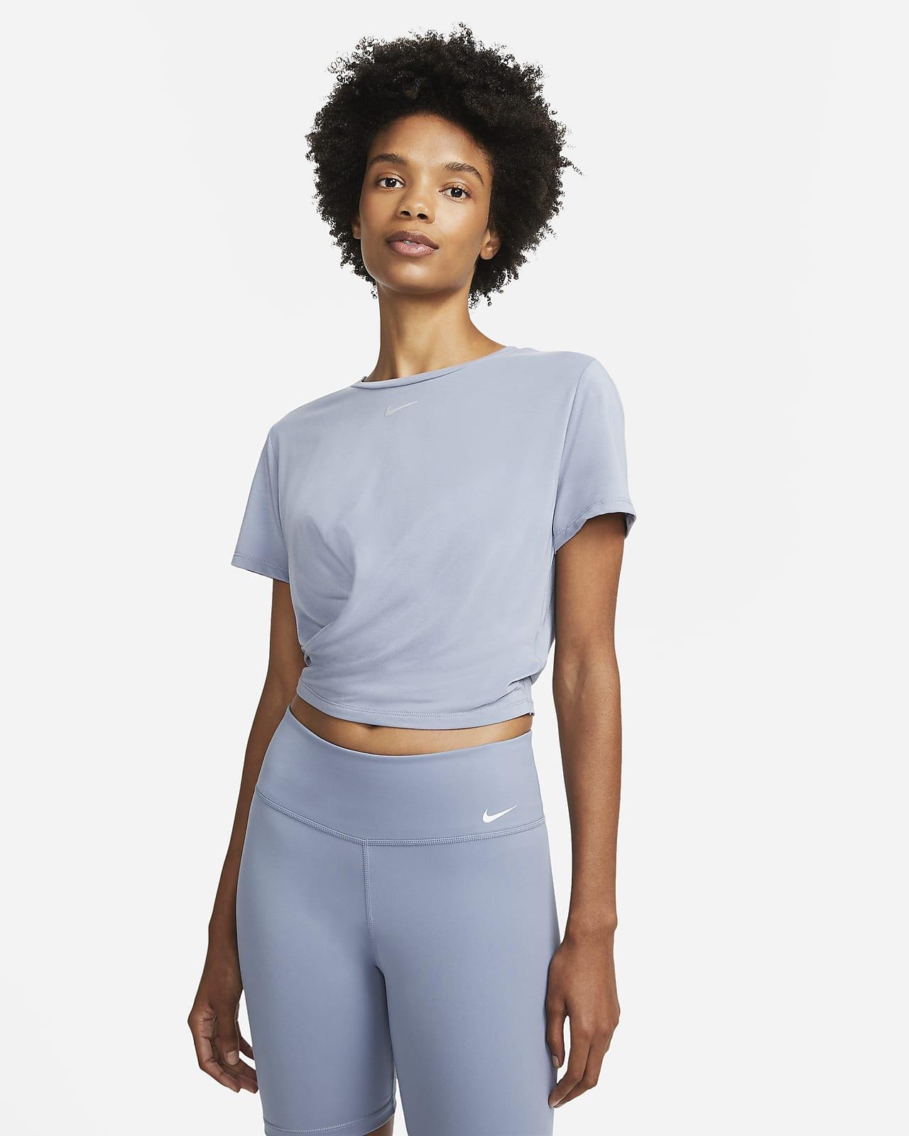 Nike Dri-FIT One Luxe Women's Twist Standard Fit Short-Sleeve Top