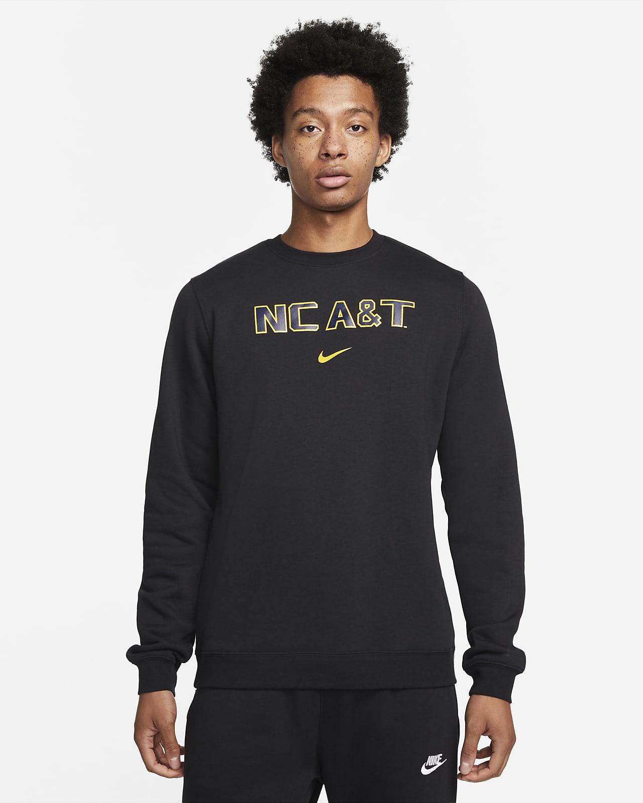 Nike College Club Fleece (North Carolina A&T) Crew Sweatshirt