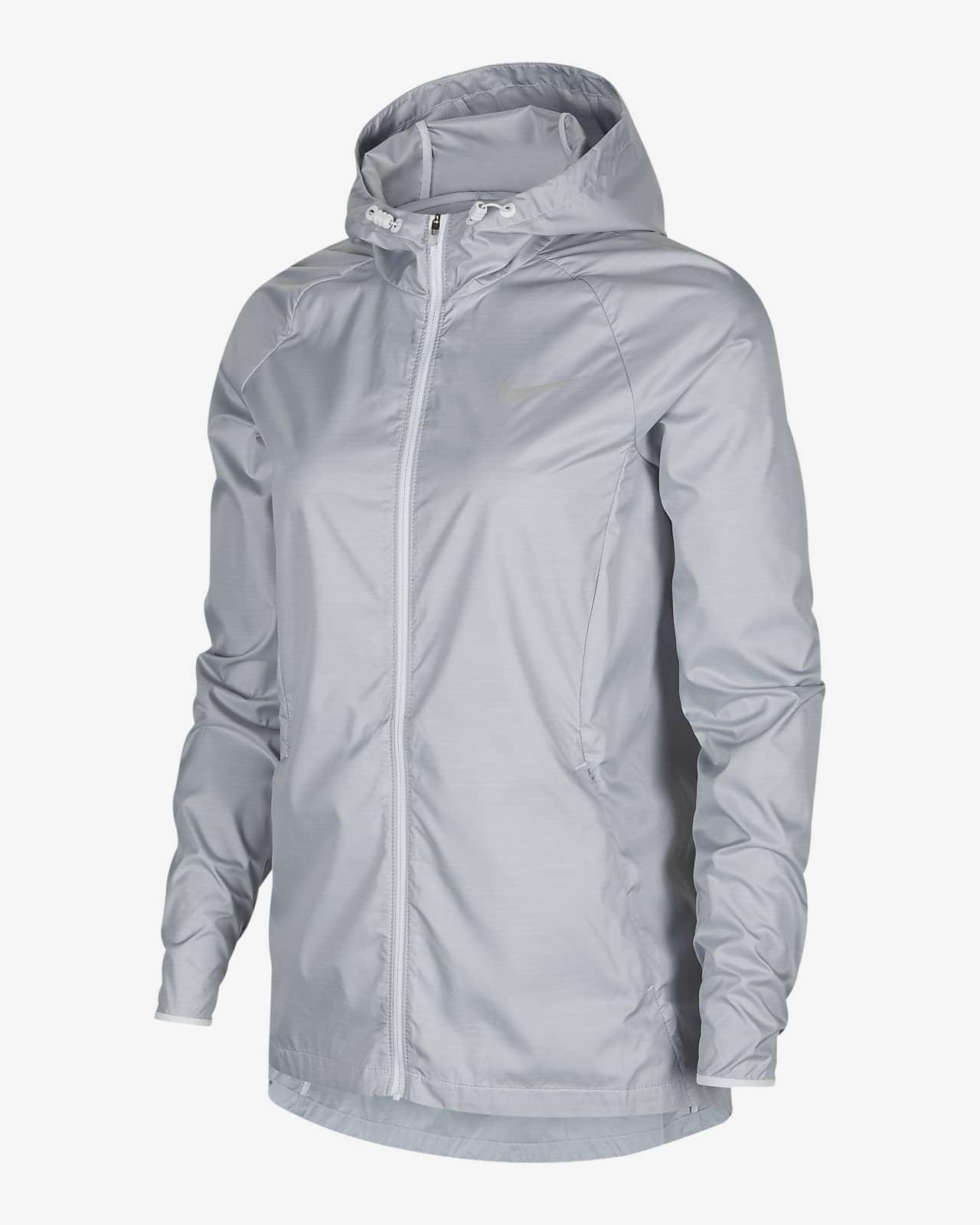 Nike Essential 女子连帽跑步夹克