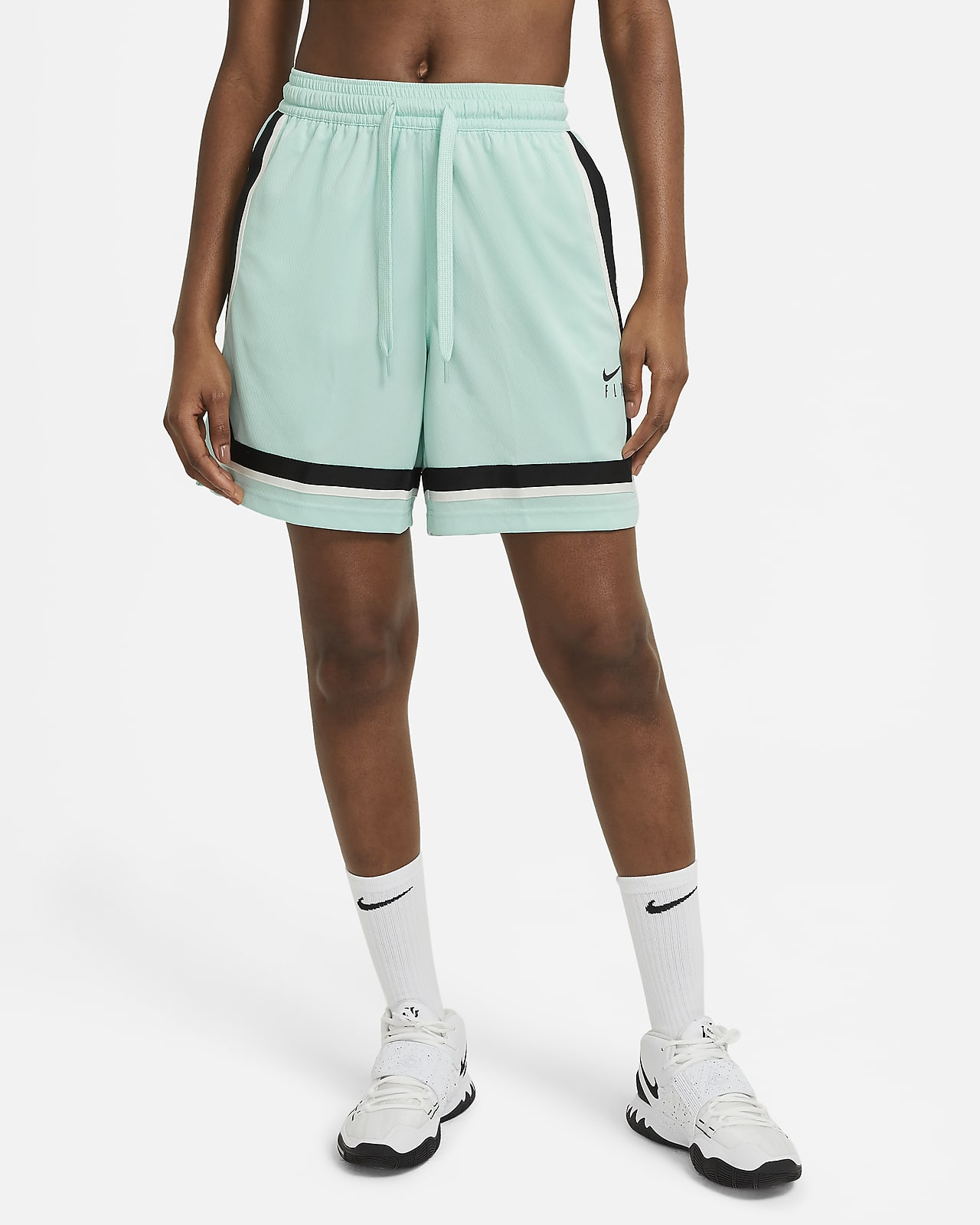 Short de basketball Nike Dri-FIT Swoosh Fly pour Femme